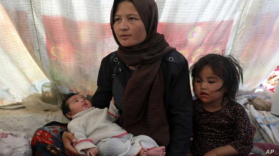 Fatima, an internally displaced Afghan woman who fled her home due to fighting between the Taliban and Afghan security…