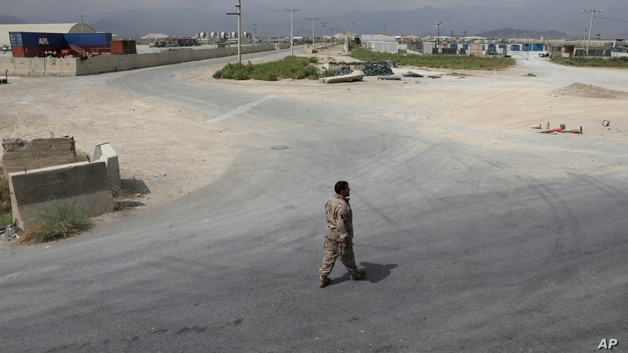 US Left Bagram Airfield Quietly Without a Goodbye, Afghans Say