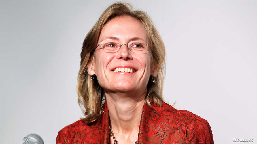 FILE PHOTO: Ann Sarnoff, former BBC studio chief,  has been named CEO at Warner Bros, June 24, 2019.