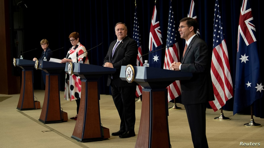 News conference following the 30th AUSMIN in Washington
