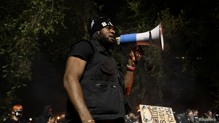 Portland protests against racial inequality and police violence continue