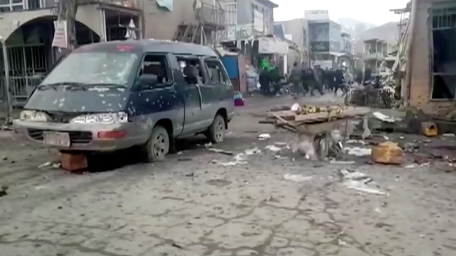 Deadly twin blasts in Bamiyan