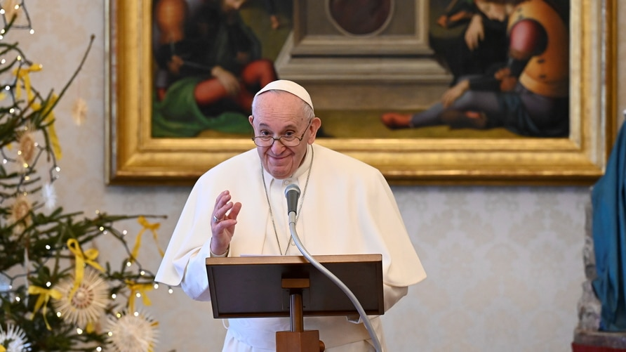Pope Francis leads Angelus prayer on Epiphany at the Vatican