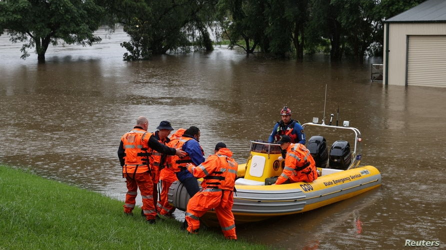 Thousands Evacuated from Homes in Australia as Floods and Heavy Rainfall Worsen