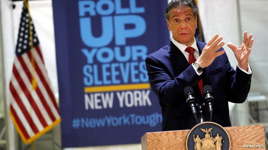 New York Governor Andrew Cuomo announces new walk-in pop-up vaccination sites for Bodega, grocery store and supermarket workers in New York