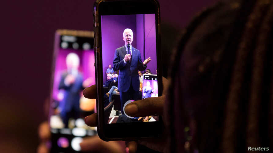 Democratic presidential candidate and former Vice President Joe Biden speaks at the 2019 Second Step Presidential Justice Forum…