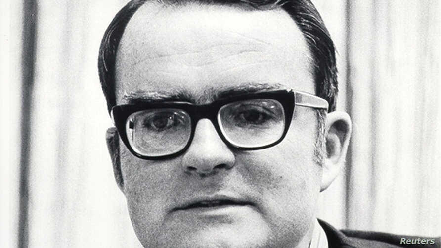 Environmental Protection Agency Administrator William Ruckelshaus appears in an undated photo. Ruckelshaus was sworn in as the…