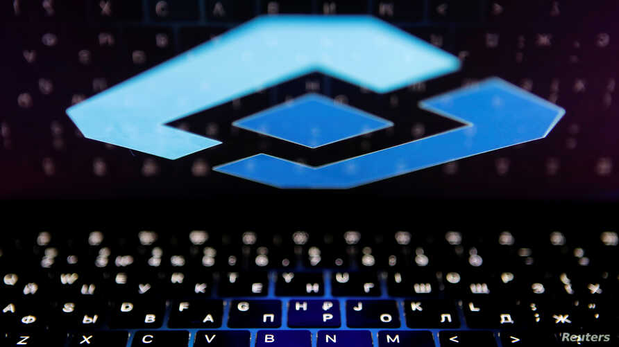 The logo of Russia's state communications regulator, Roskomnadzor, is reflected in a laptop screen in this picture illustration…