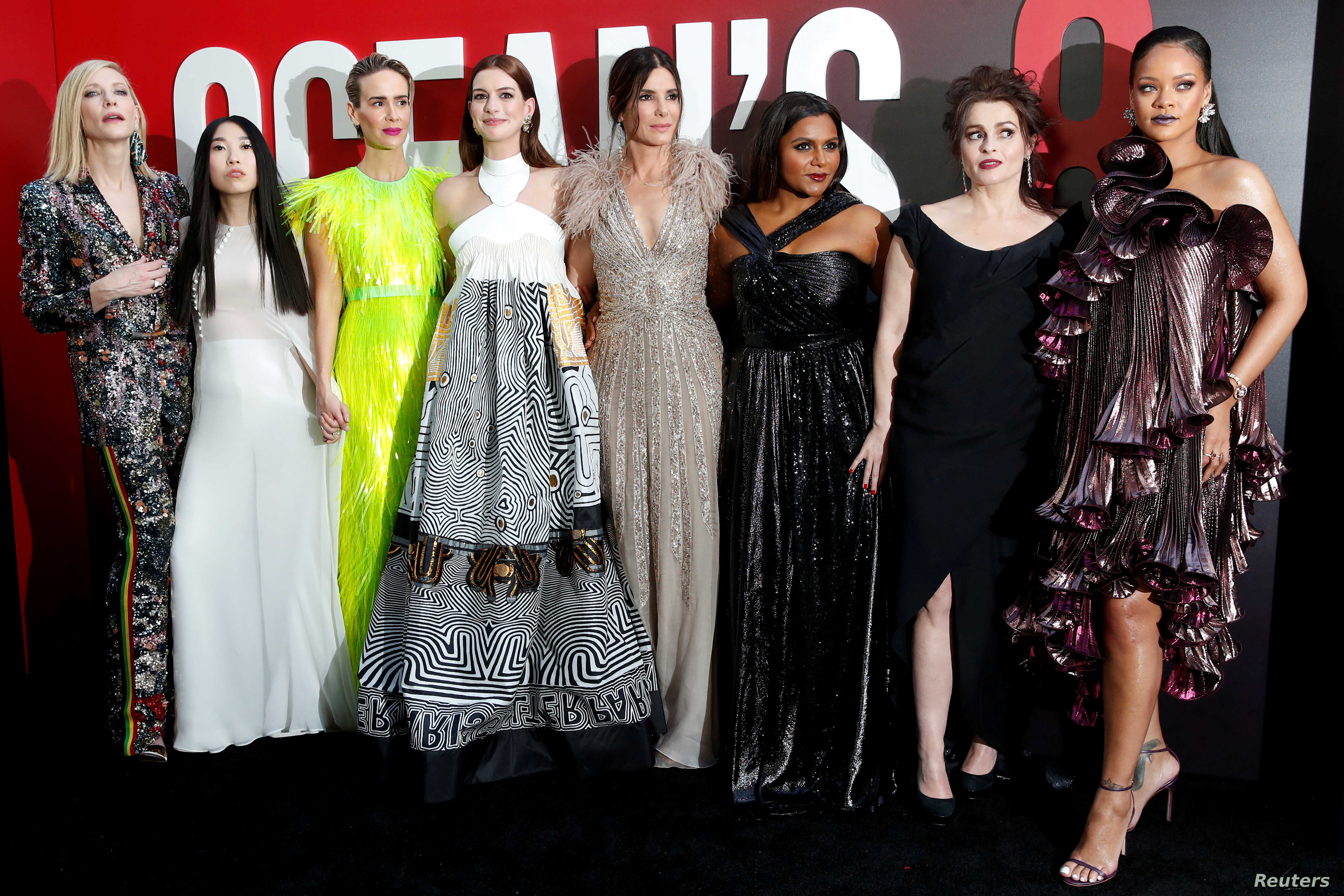 Feminist Or Just Fun Ocean S 8 Steals Hollywood Spotlight Voice Of America English