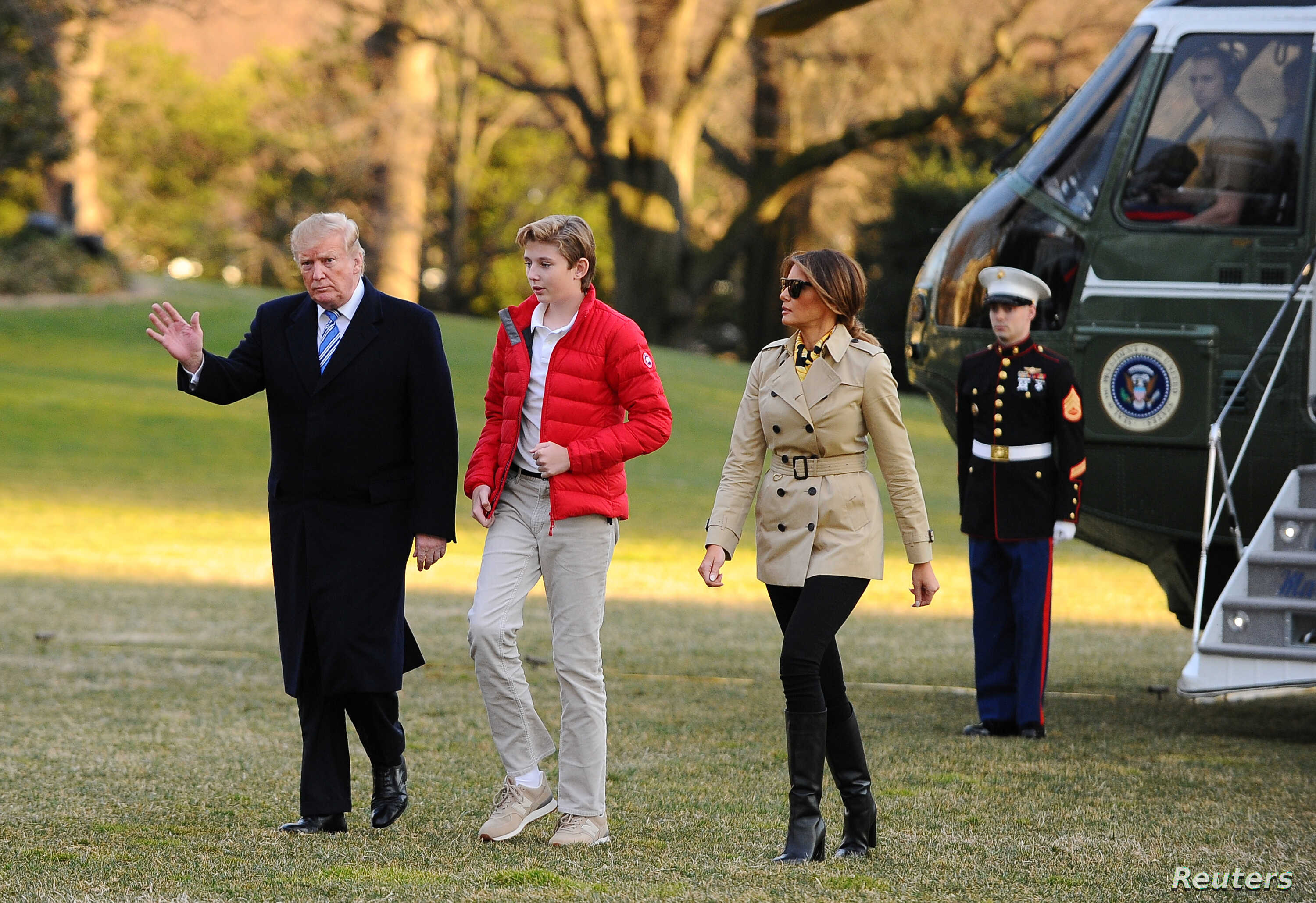 Happy Birthday! Trump's Youngest Son, Barron, Turns 13 | Voice of America -  English