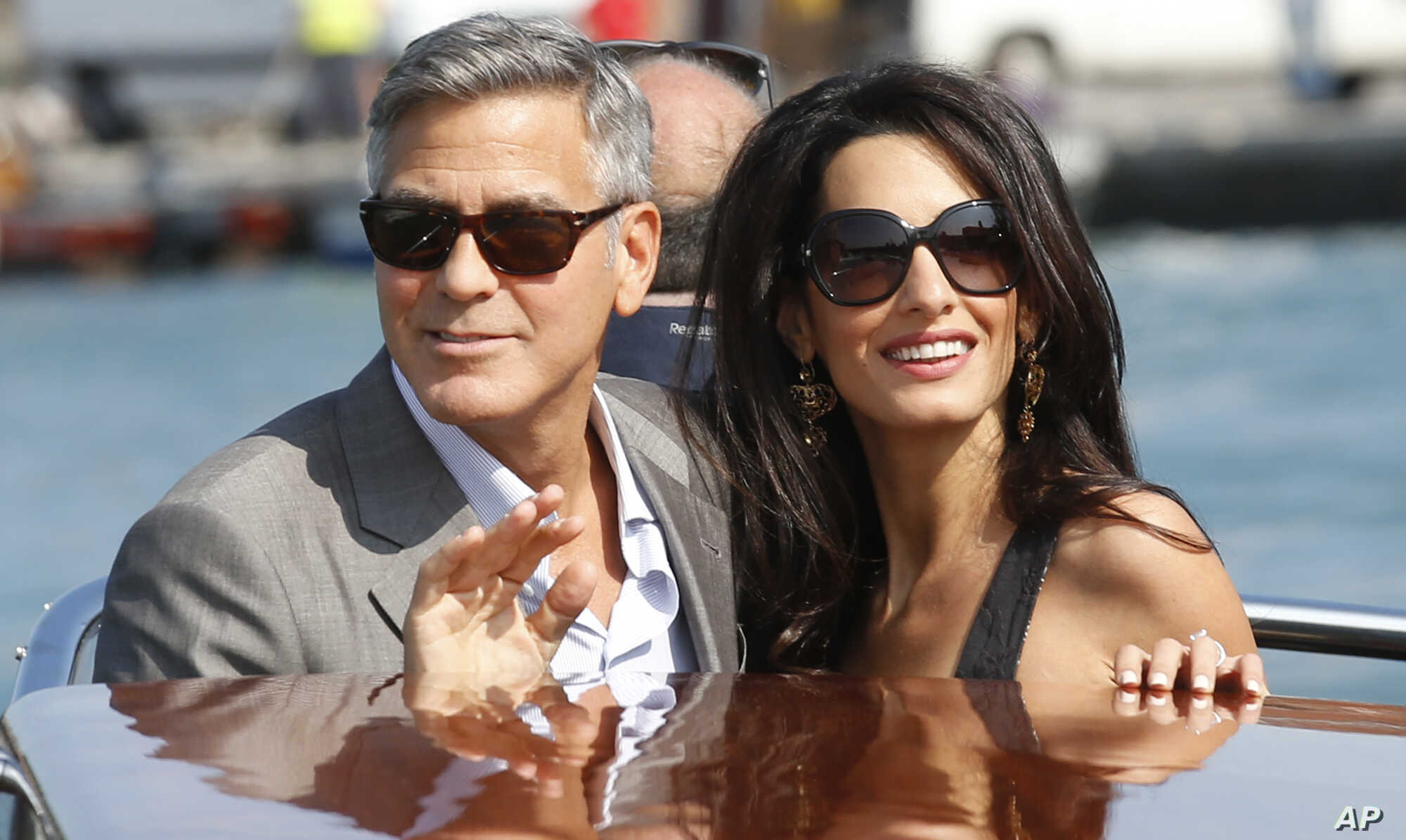 George Clooney S Wedding Brings Out Stars In Venice Voice Of America English