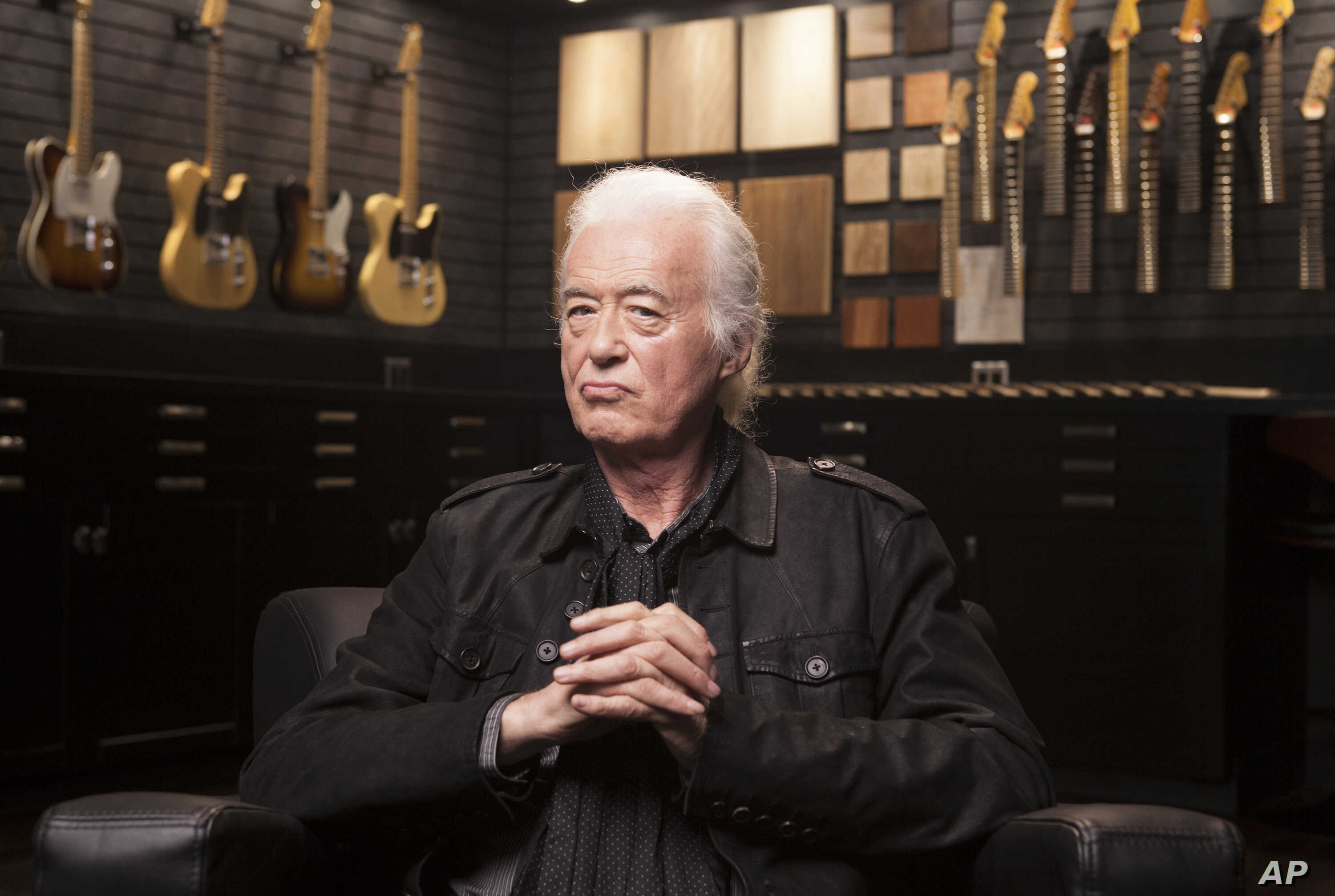 Guitarist Jimmy Page Looks Back at 50 Years of Led Zeppelin | Voice of  America - English