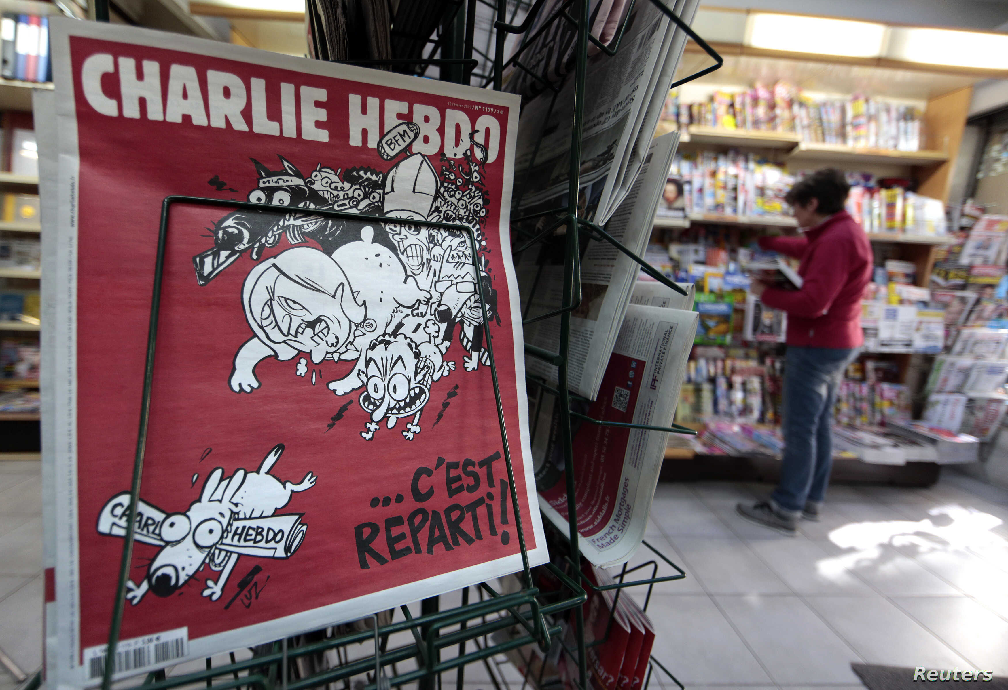 Charlie Hebdo Giving 4 Million In Donations To Victims Voice Of America English