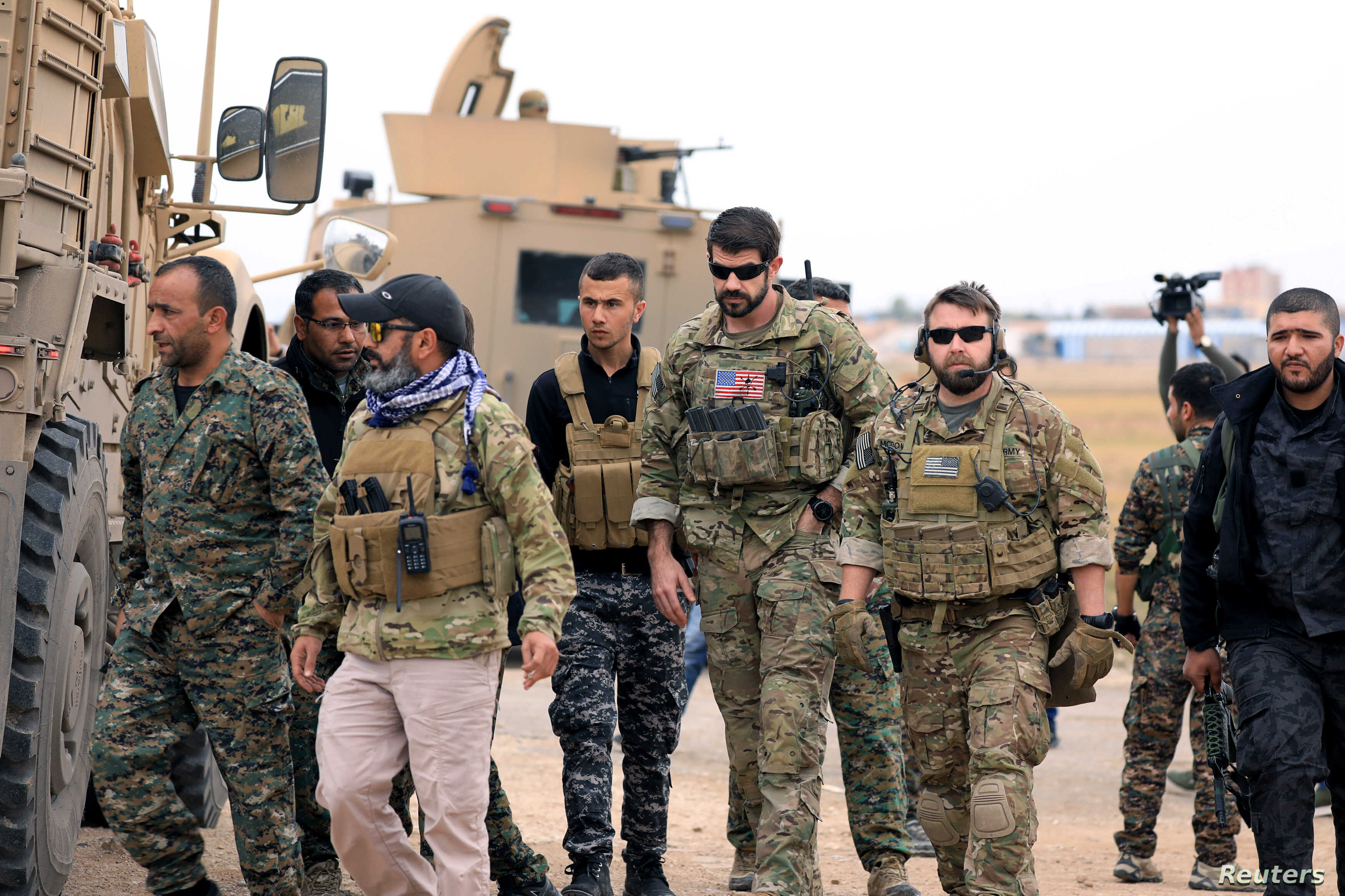 White House: US Starts Withdrawing Troops From Syria | Voice of America -  English