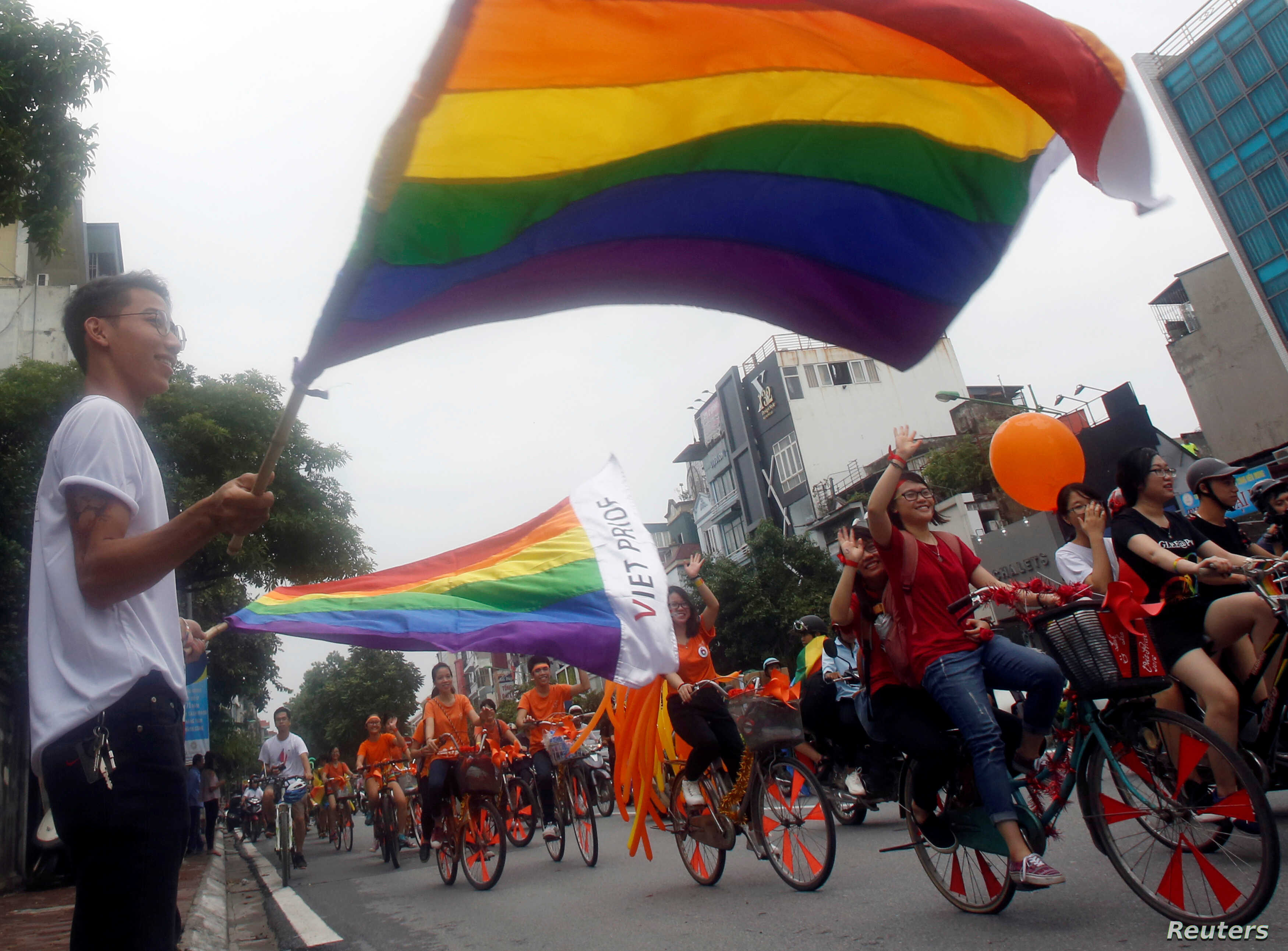 Asia's Youngest Nation Celebrates 2nd LGBT Parade | Voice of America -  English