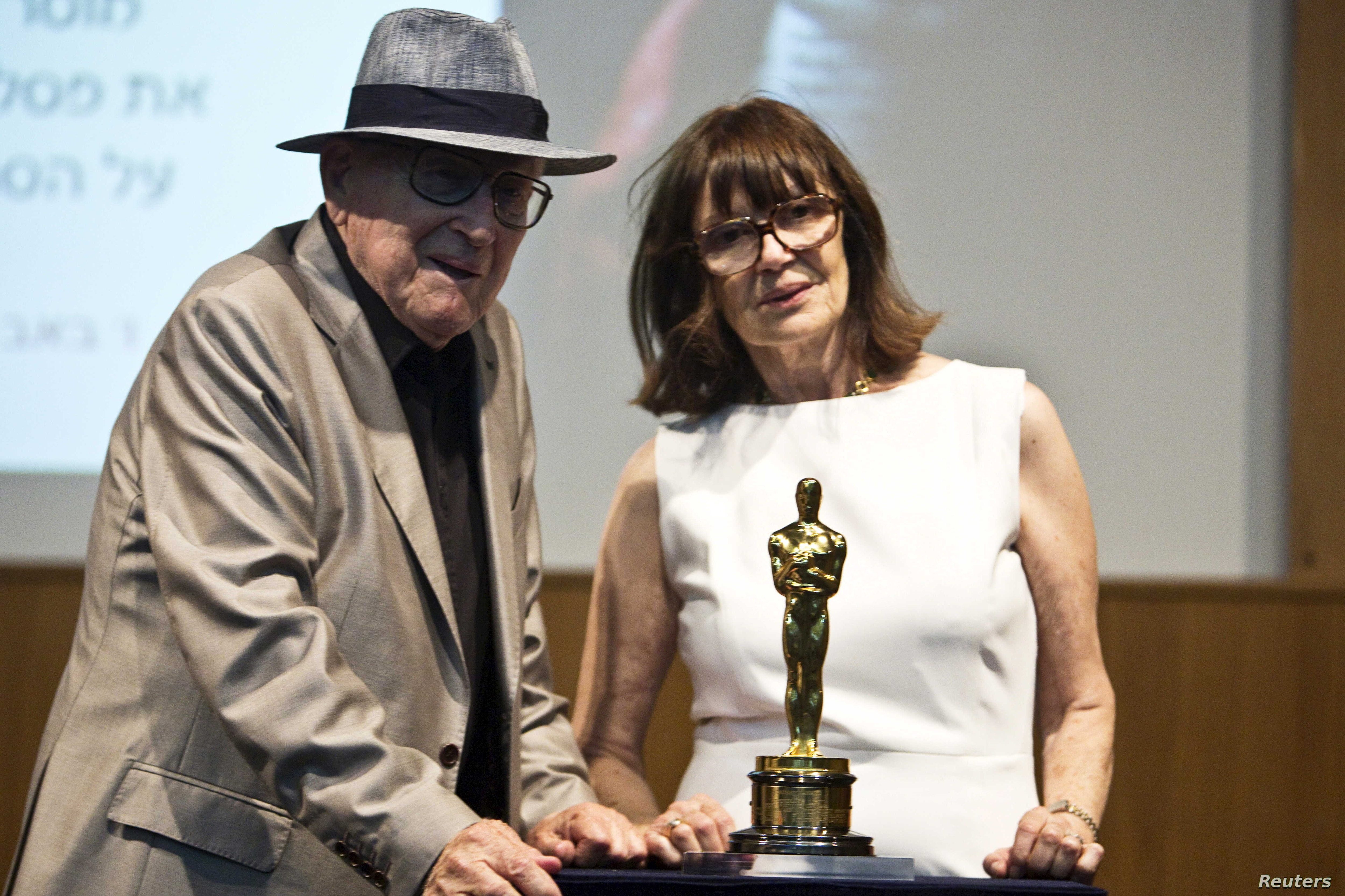 Schindler S List Producer Presents Oscar To Yad Vashem Memorial Voice Of America English