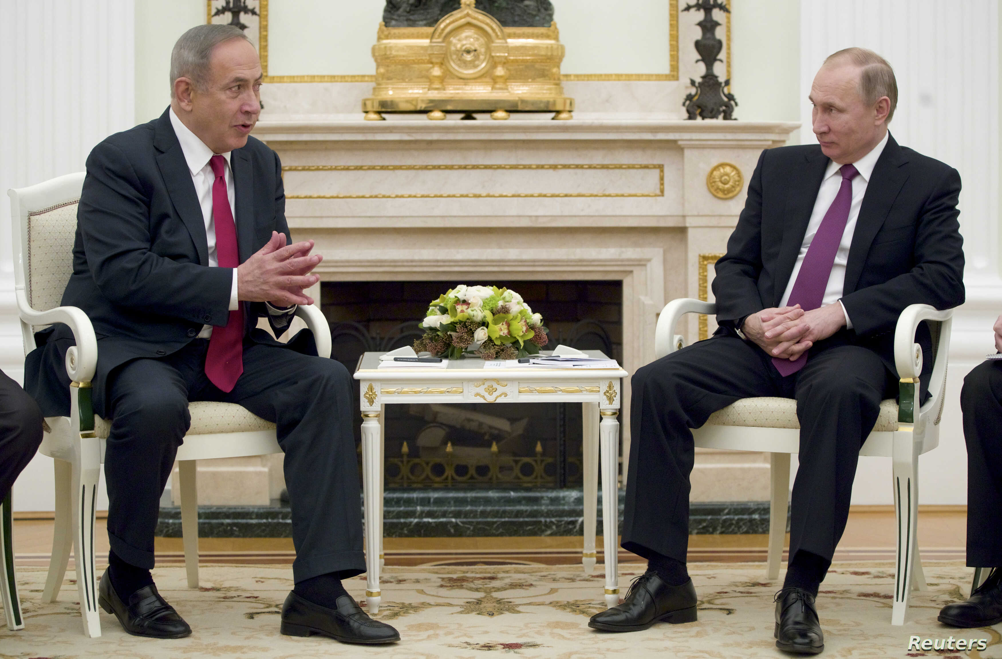 Netanyahu Goes To Moscow With Syria On His Mind Voice Of America English
