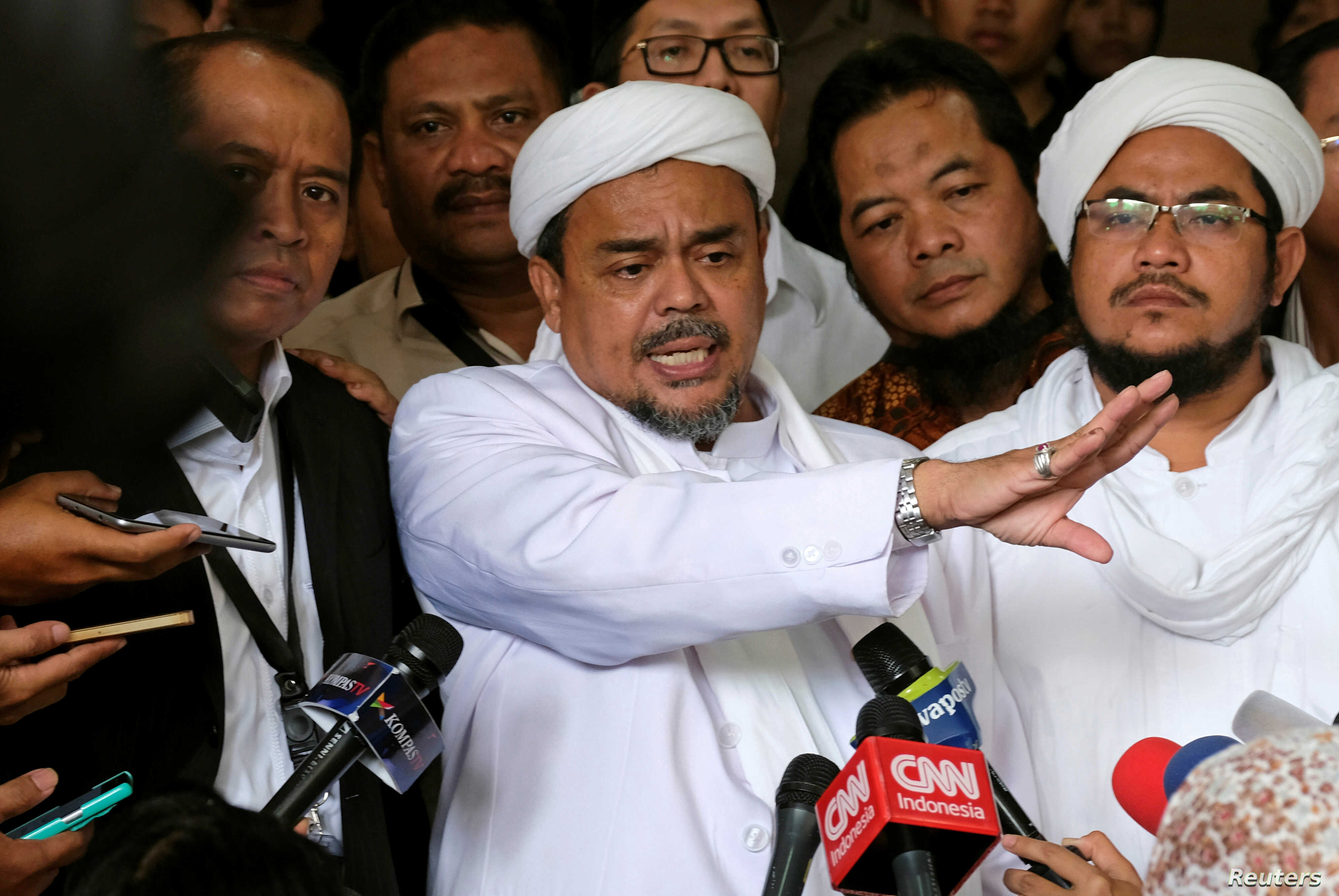 Indonesia Names Islamist Leader A Suspect In Pornography Case Voice Of America English