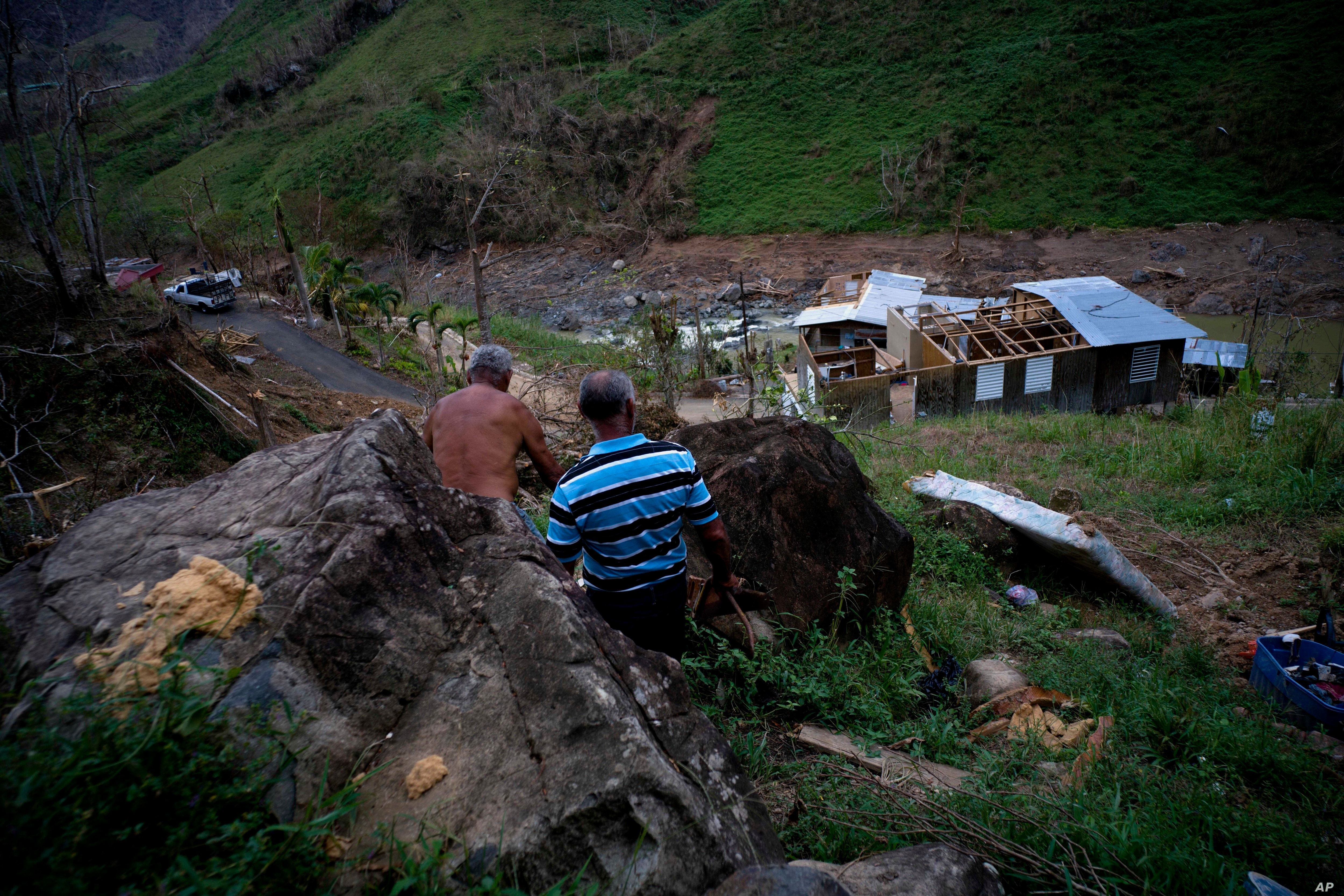 Hurricane Recovery Slower In Puerto Rican Mountains Voice Of America English