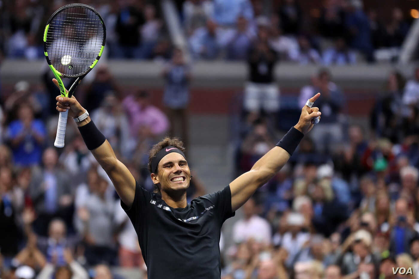 Rafael Nadal Beats Kevin Anderson For 3rd Us Open Voice Of America English