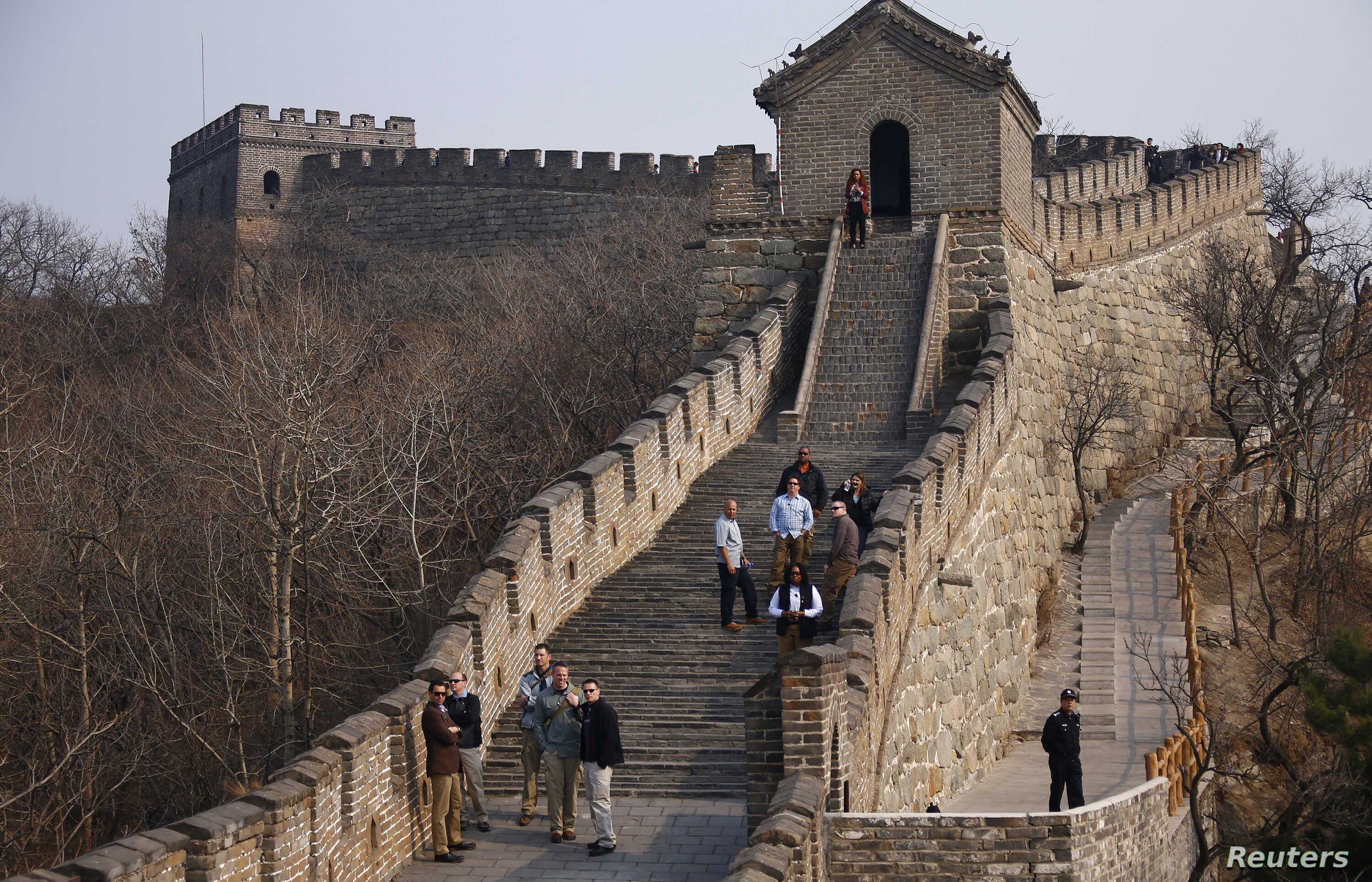 Section Of Great Wall Of China Marred In Name Of Restoration Voice Of America English