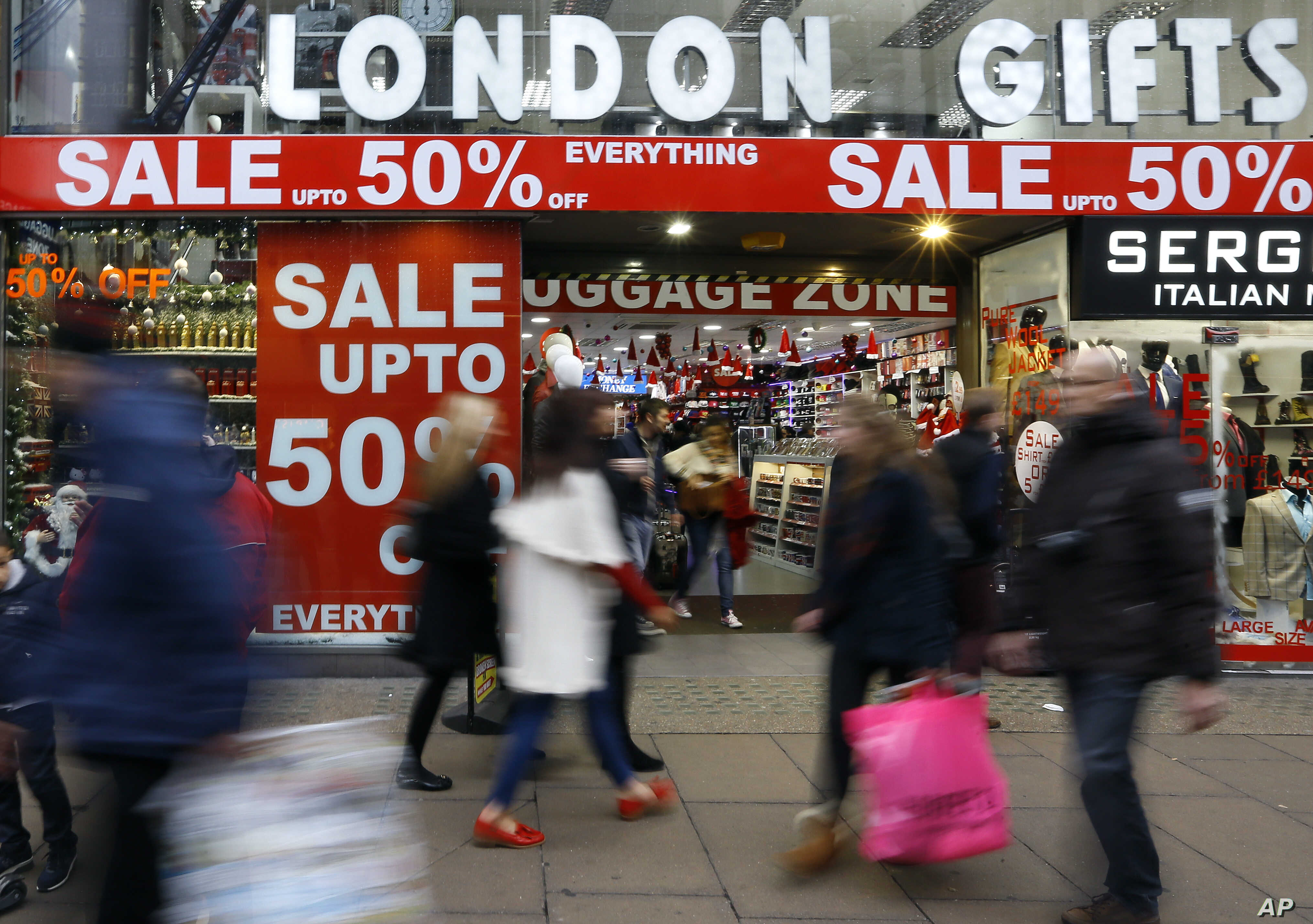 Britain S Biggest Ever Black Friday May Come At A Cost Voice Of America English