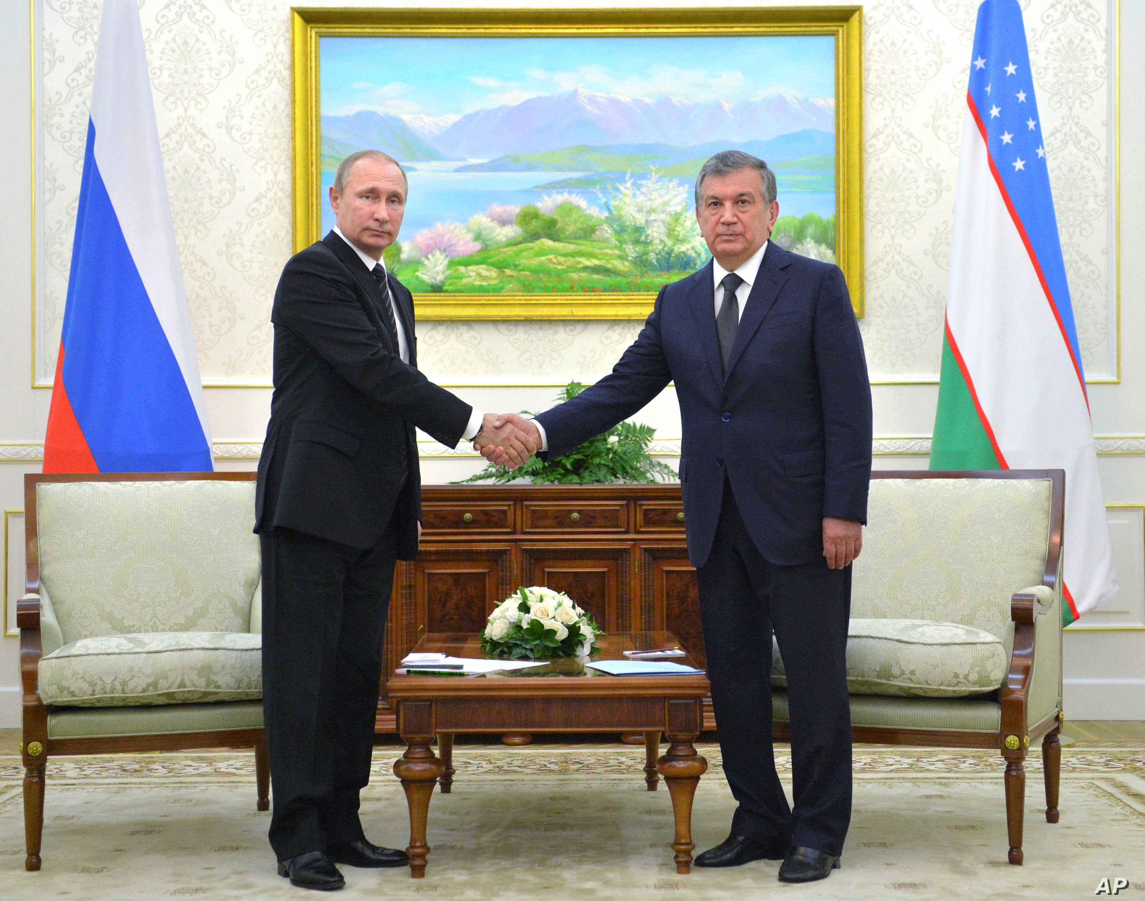 Russia S Putin Urges Karimov S Successors To Continue Tough Style Of Rule Voice Of America English