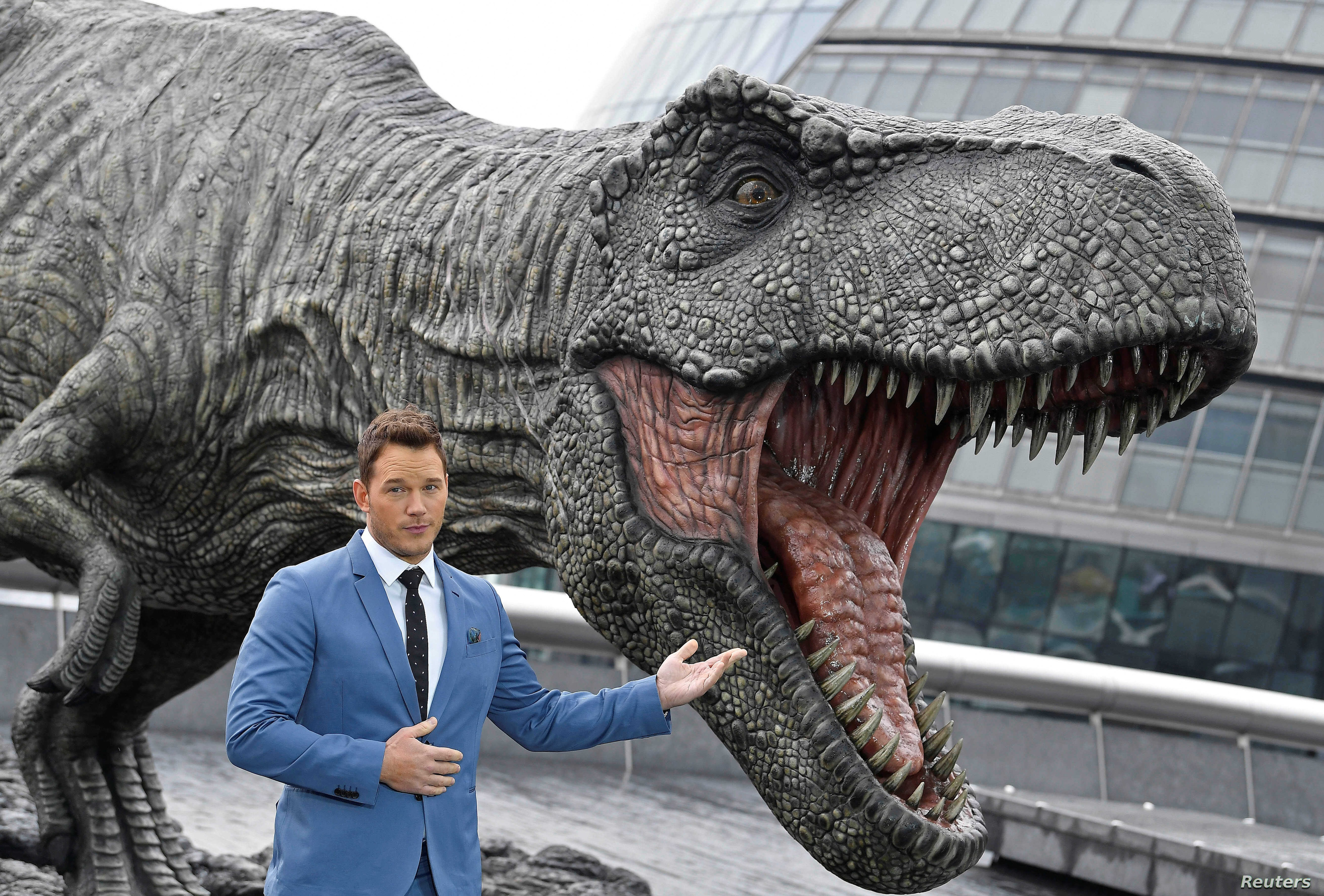 In Jurassic World A Dino Sized Animal Rights Parable Voice Of America English