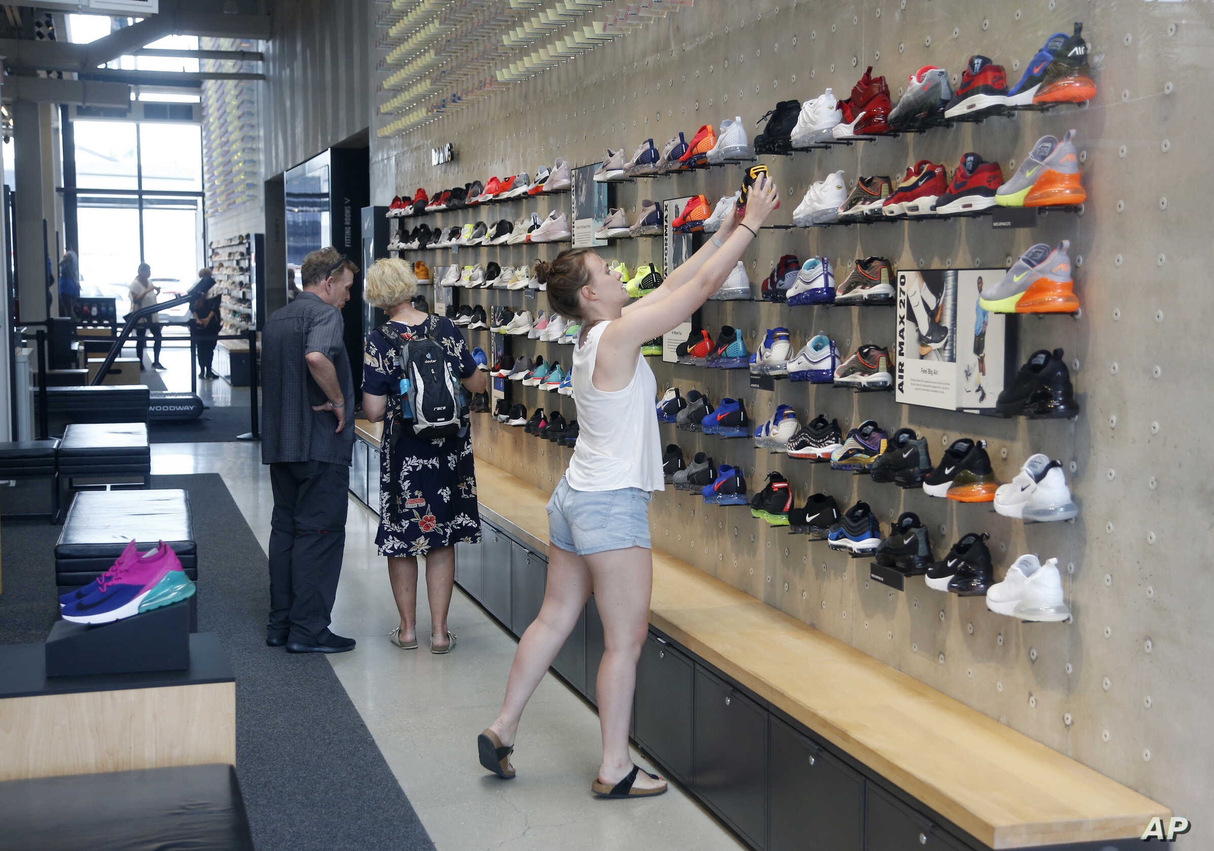 equal cheap prose  Nike's Plan for Better-Fitting Kicks: Show Us Your Feet   Voice of America  - English