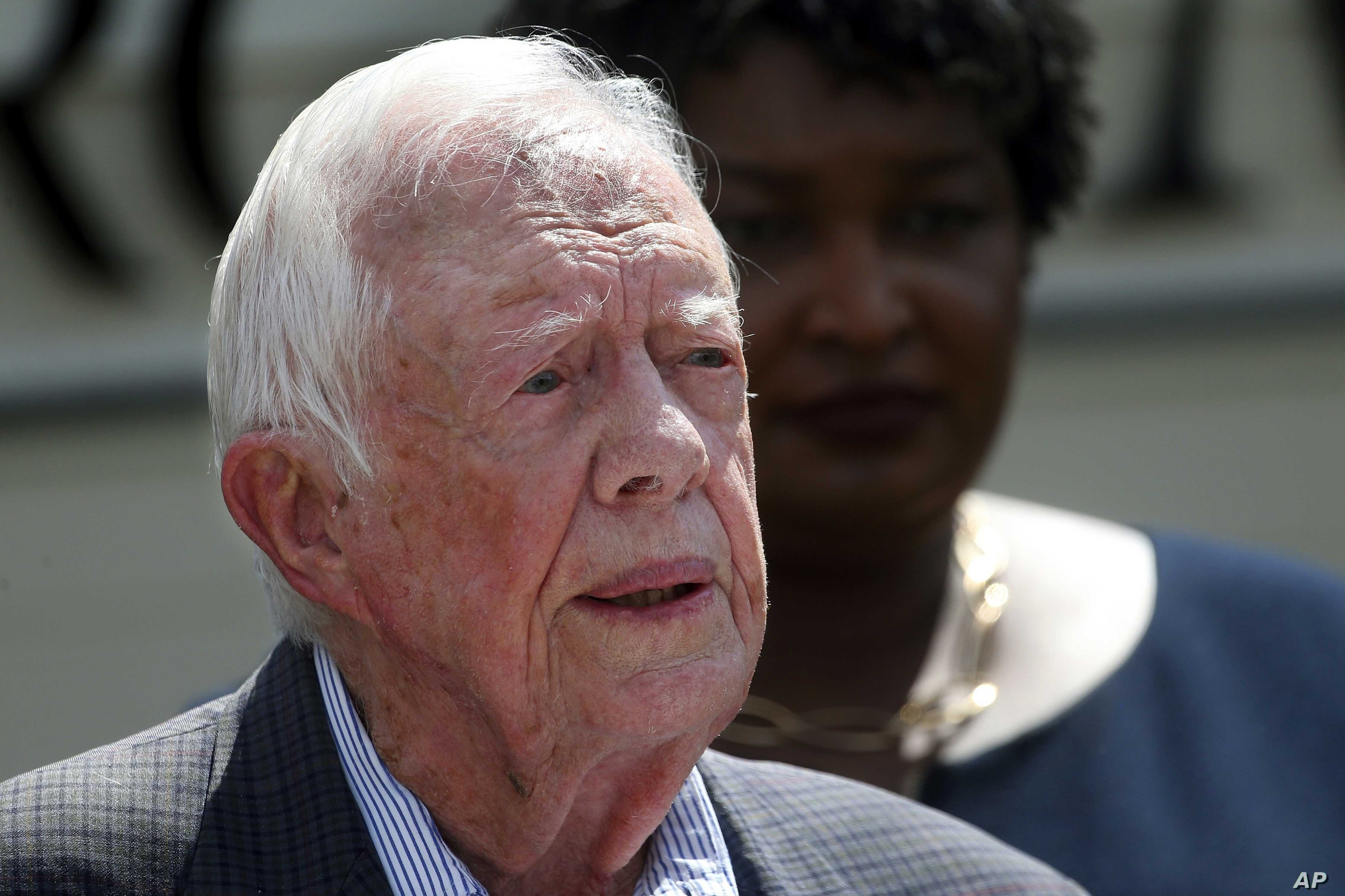 After Battling Cancer Hip Surgery Ex President Carter Still Thriving At 95 Voice Of America English