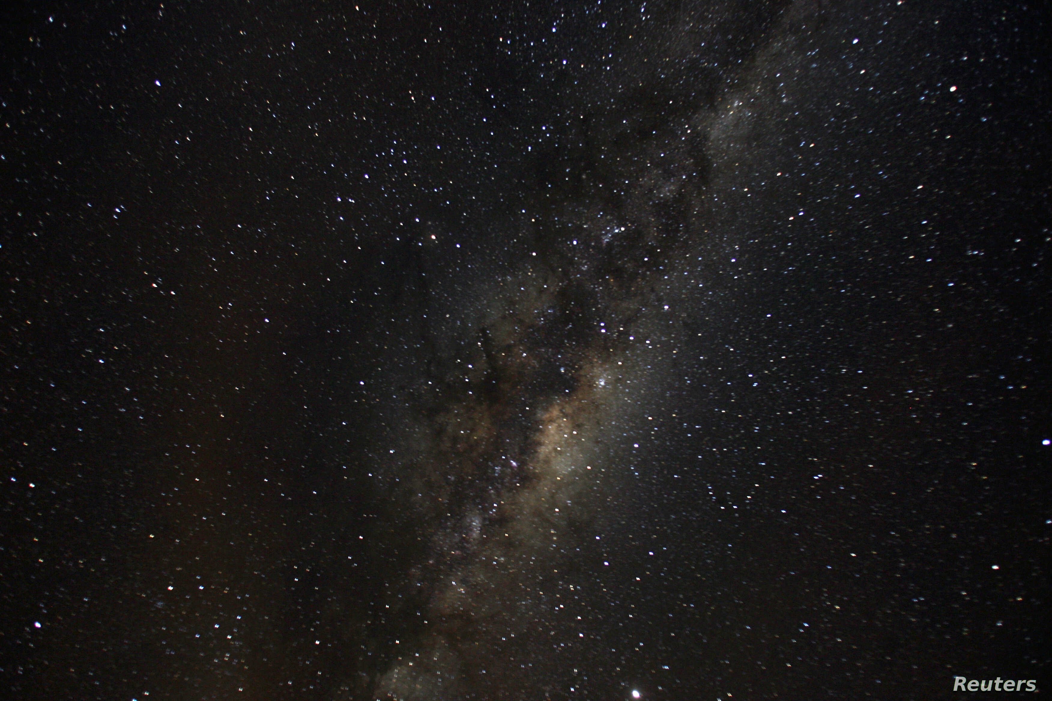 Milky Way Melded With Smaller Galaxy in Long-Ago Cosmic Crash   Voice of  America - English