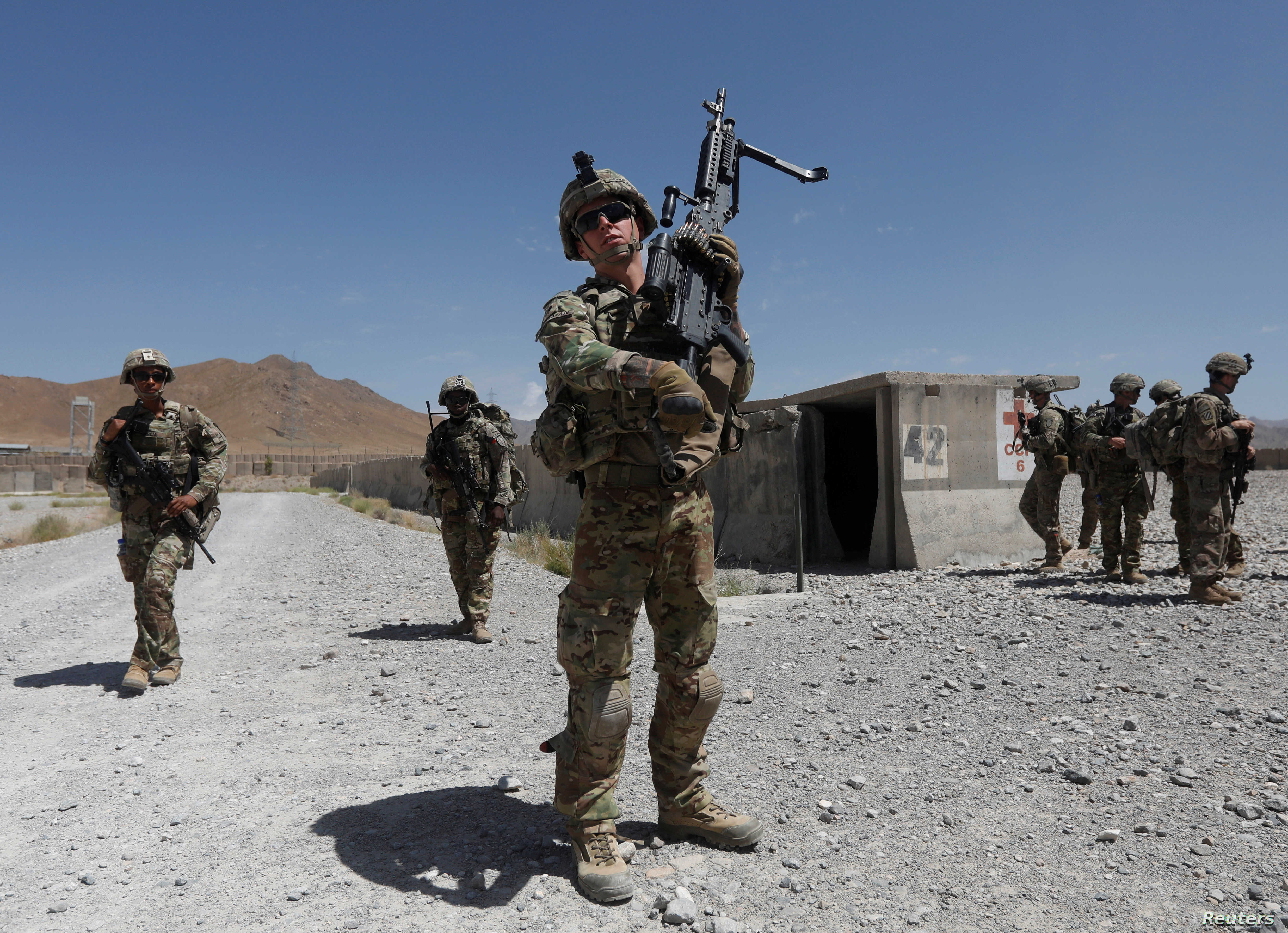 US Soldier Killed in Action, Taliban Attack Afghan