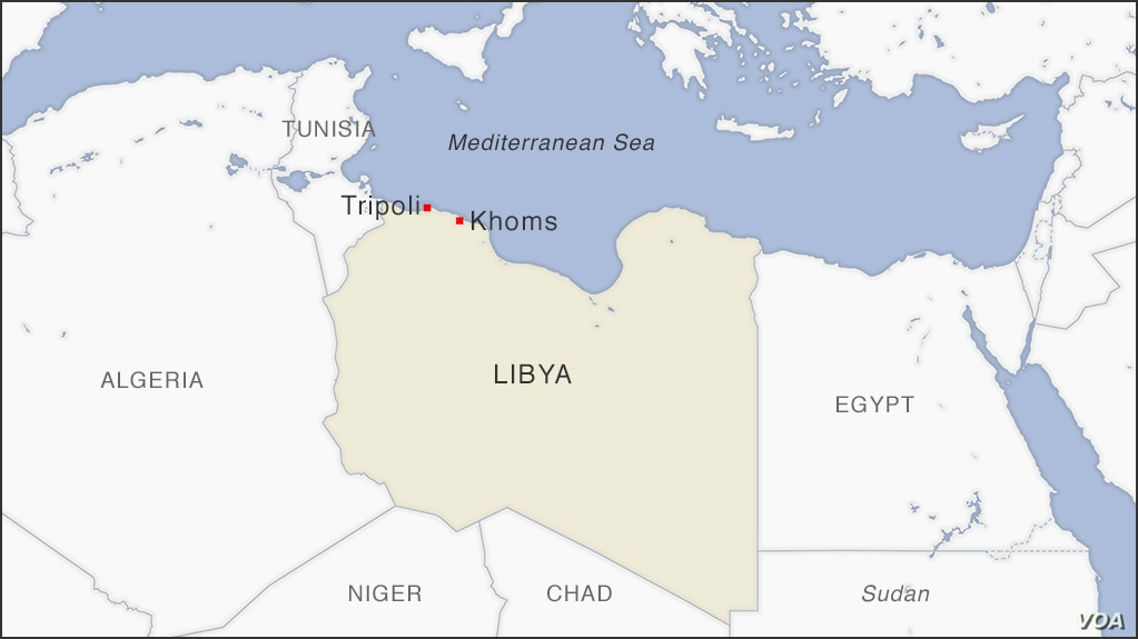 Tripoli Map Africa Fighting Rages as Libya Force Pushes Toward Key Western City
