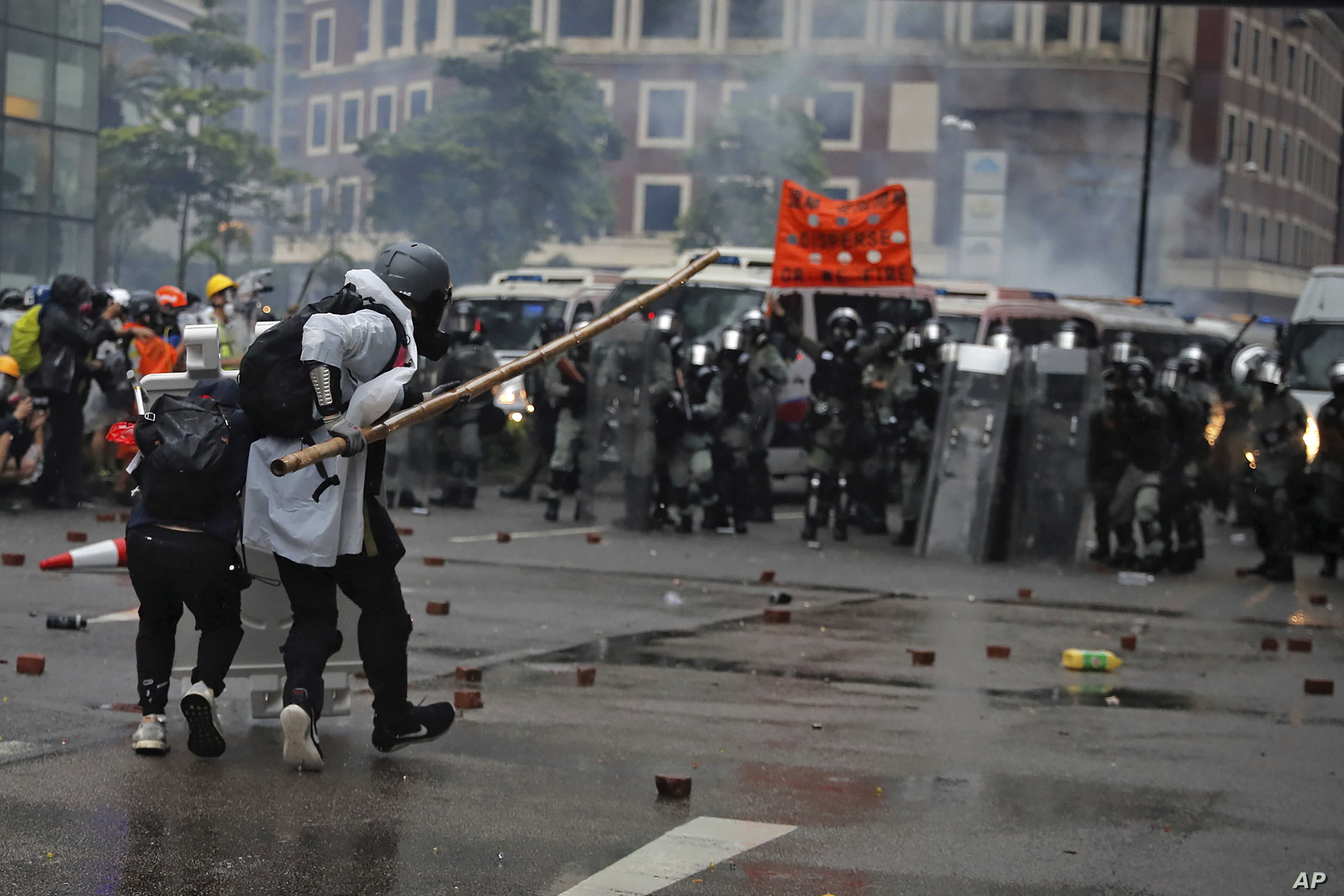 Now or Never': Hong Kong Protesters Say They Have Nothing to Lose ...