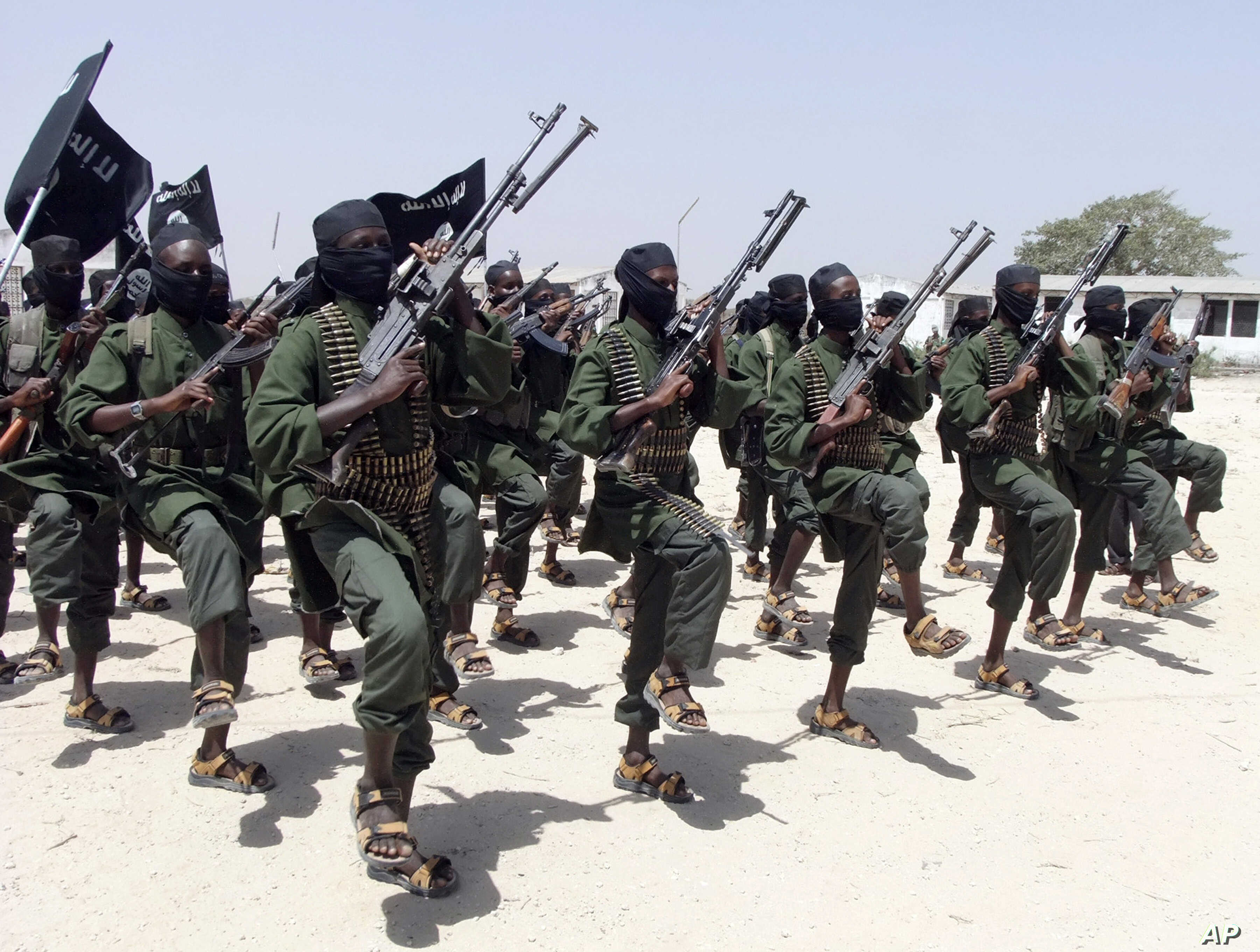 Al-Shabab Chief Partially Seen on Video for First Time | Voice of America -  English