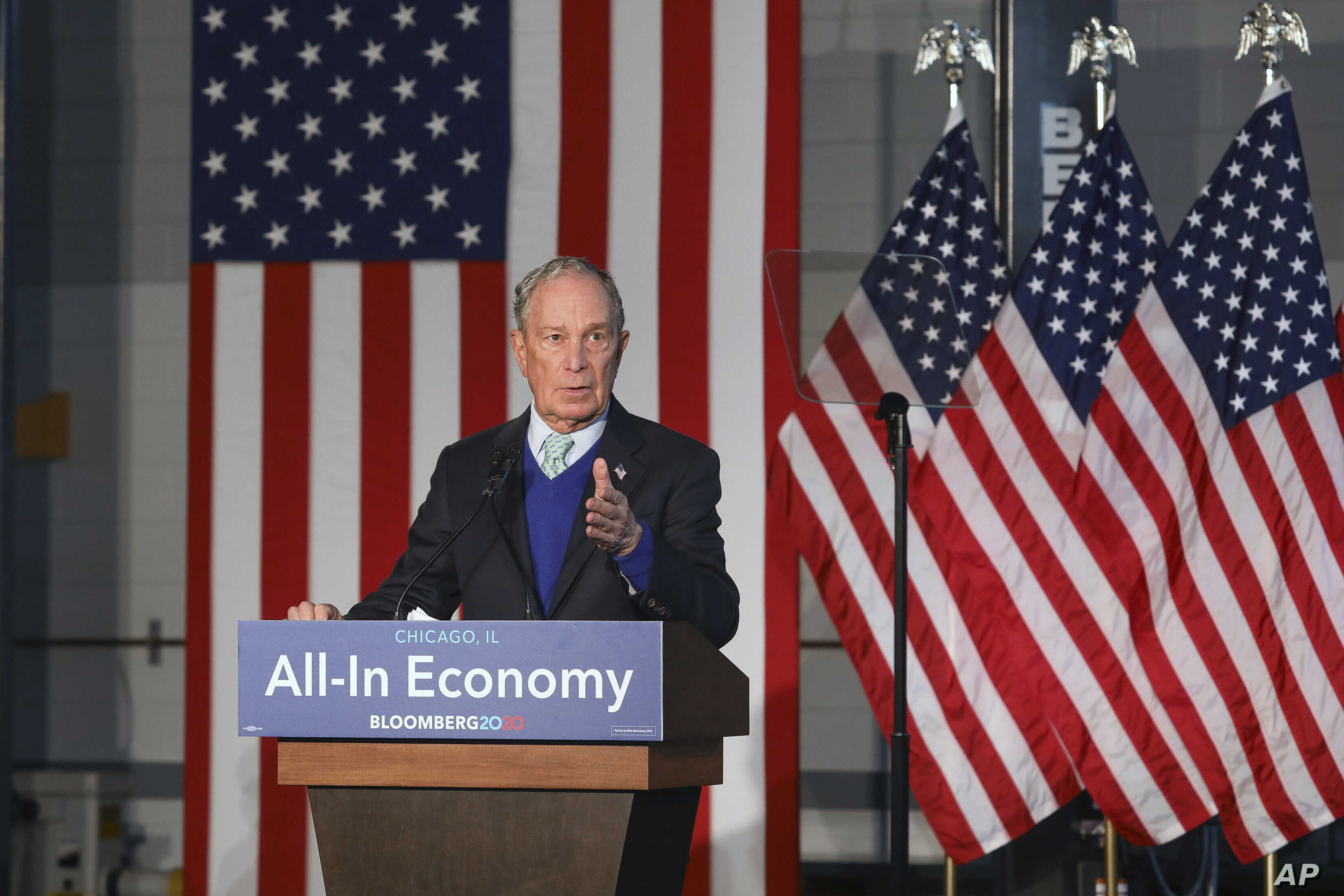 Inside Mike Bloomberg S Big Play For Black Voters Voice Of America English