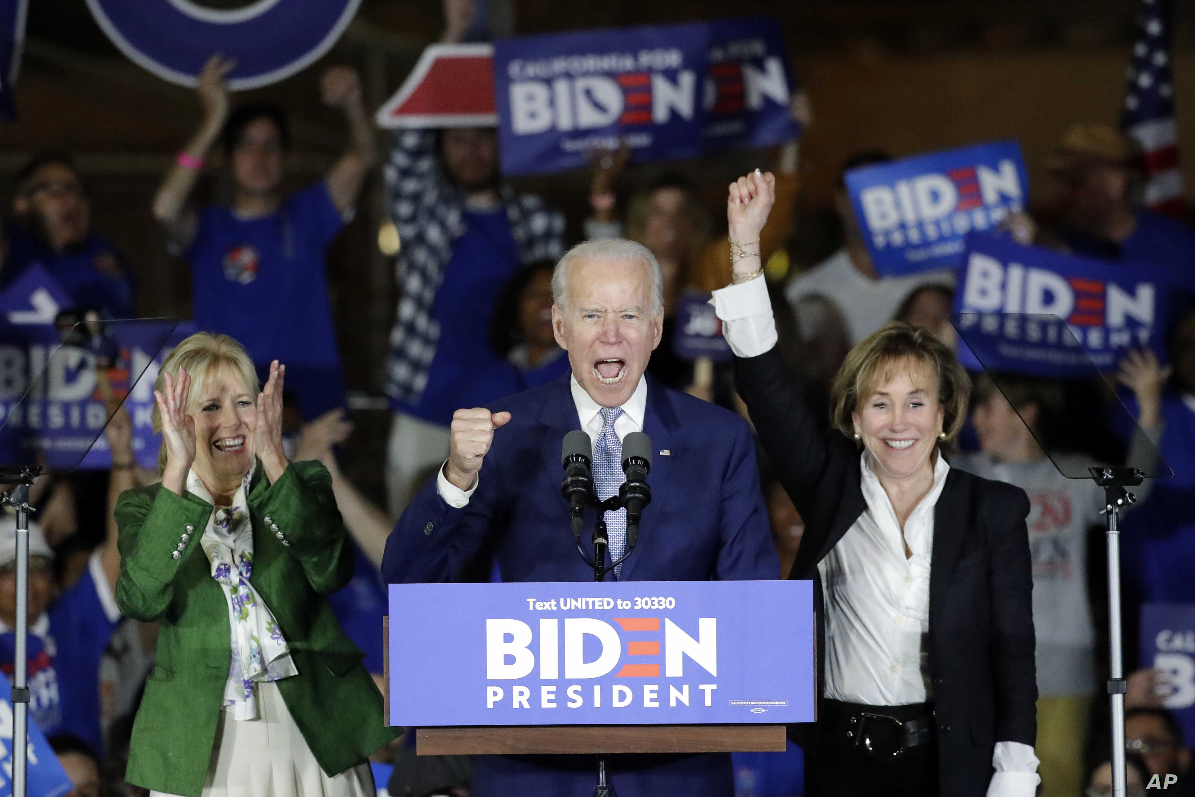 Biden's Sweeping Super Tuesday Victories Re-shape Democratic Presidential  Race | Voice of America - English