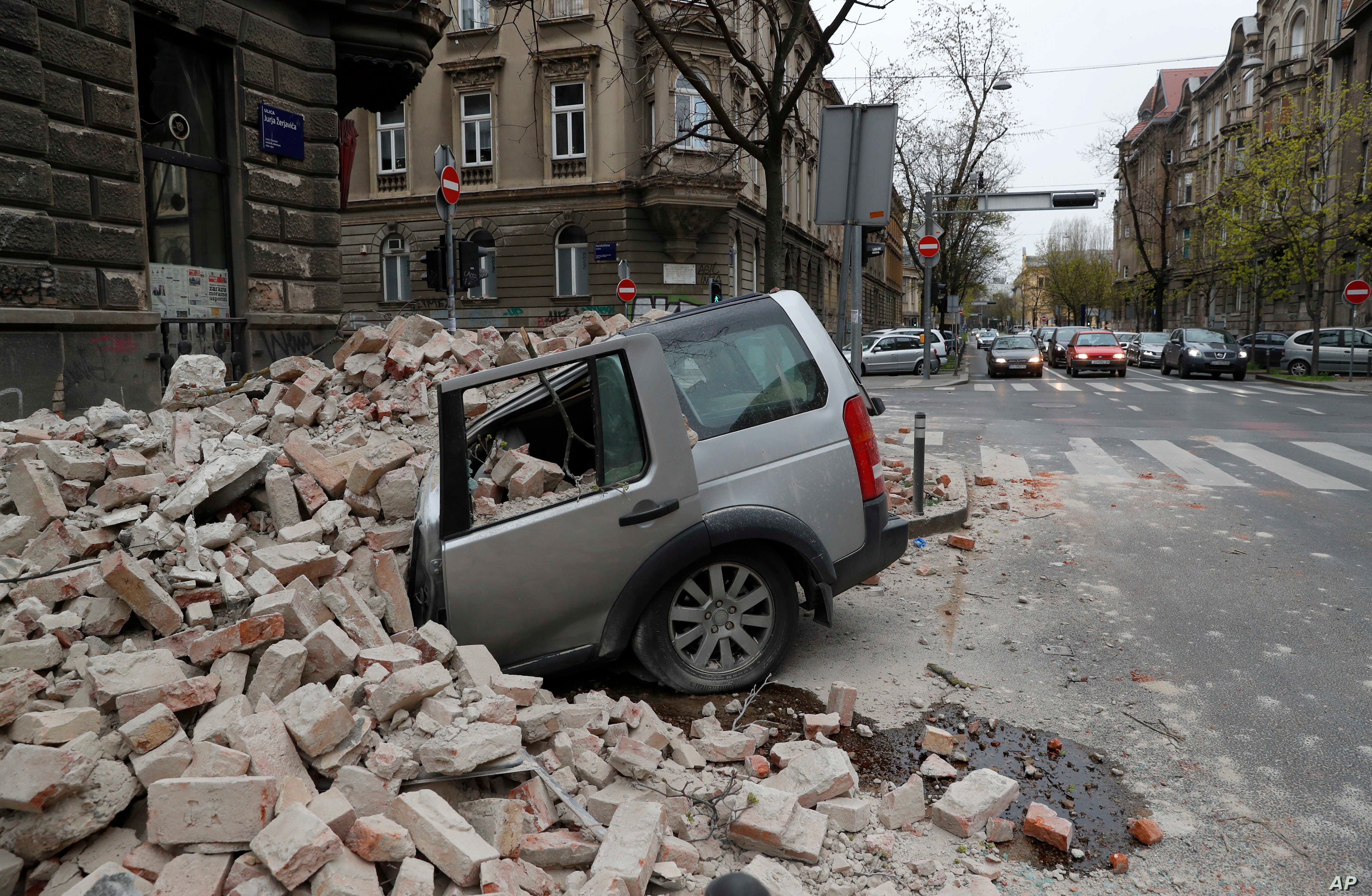 Croatia S Capital Recovers From Earthquake Amid Covid 19 Pandemic Voice Of America English