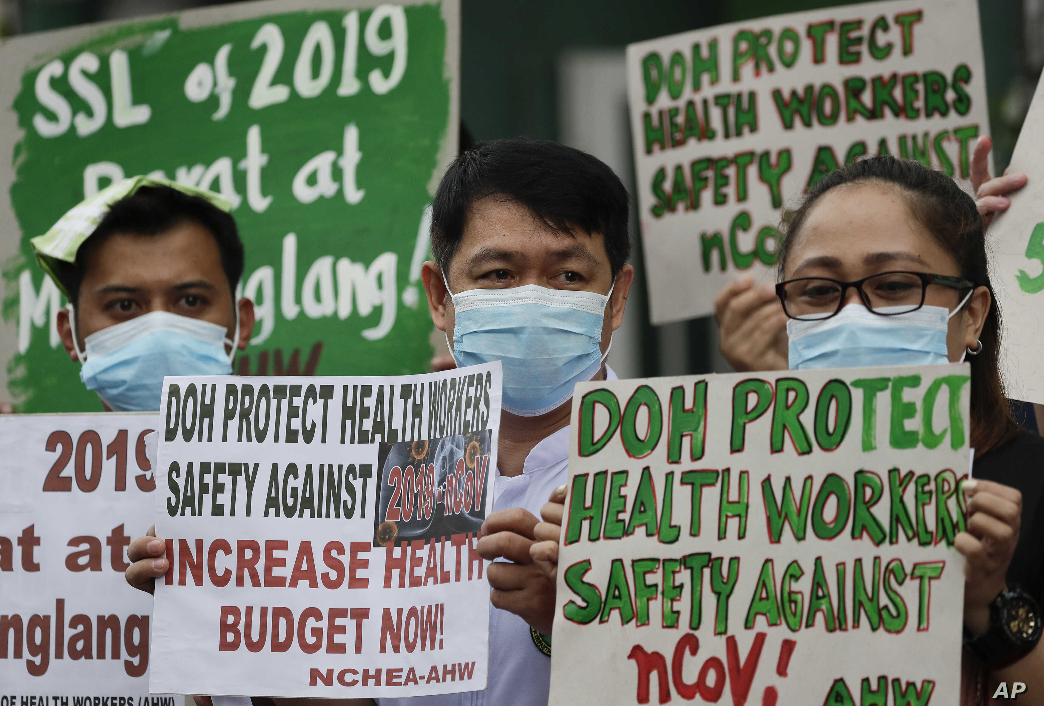 Philippine Health Workers Battle Coronavirus Harassment Voice Of America English