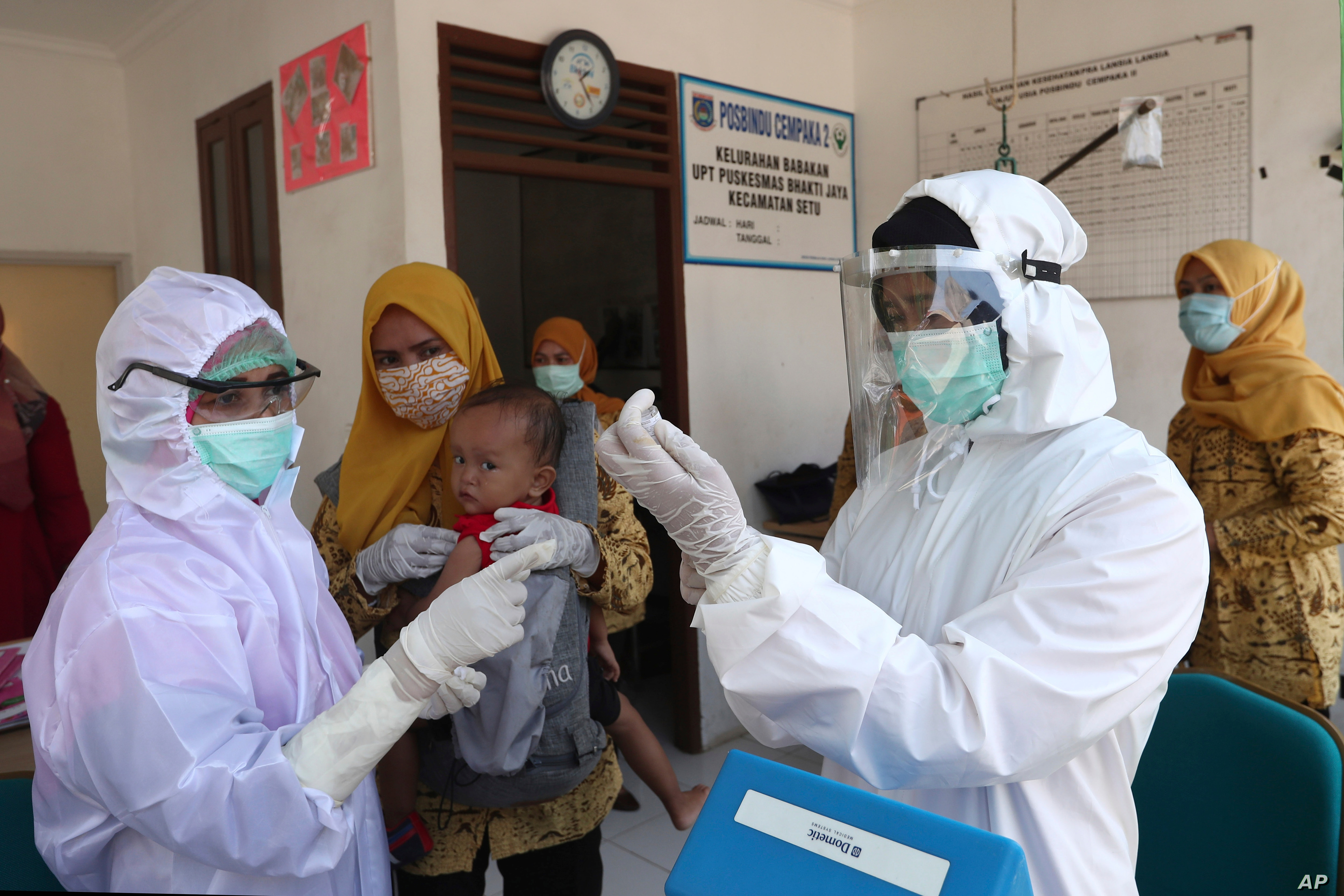Indonesia To Produce Covid Vaccine For Its Own Exclusive Use Voice Of America English