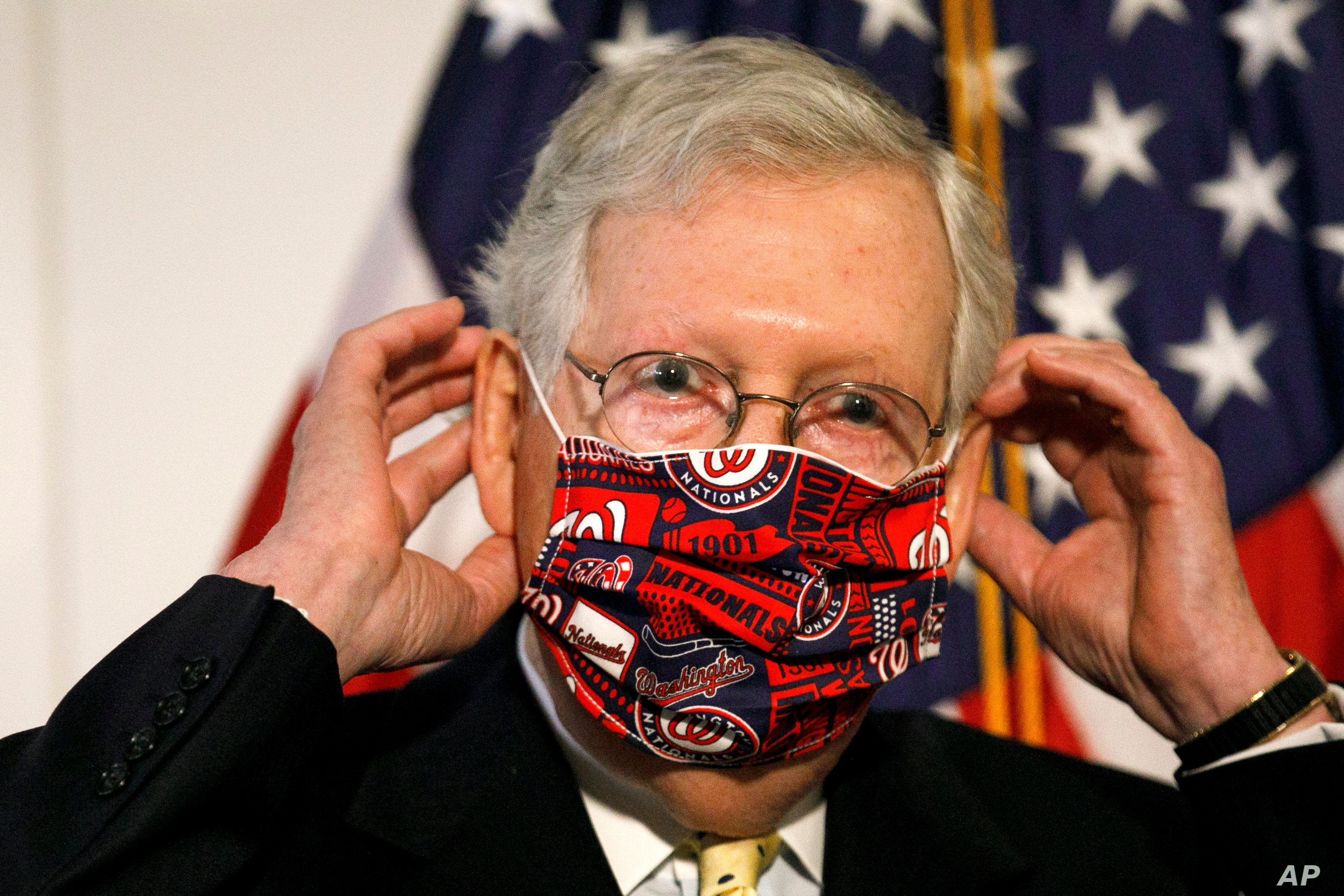Mcconnell Set To Unveil New Virus Aid Despite Gop Revolt Voice Of America English
