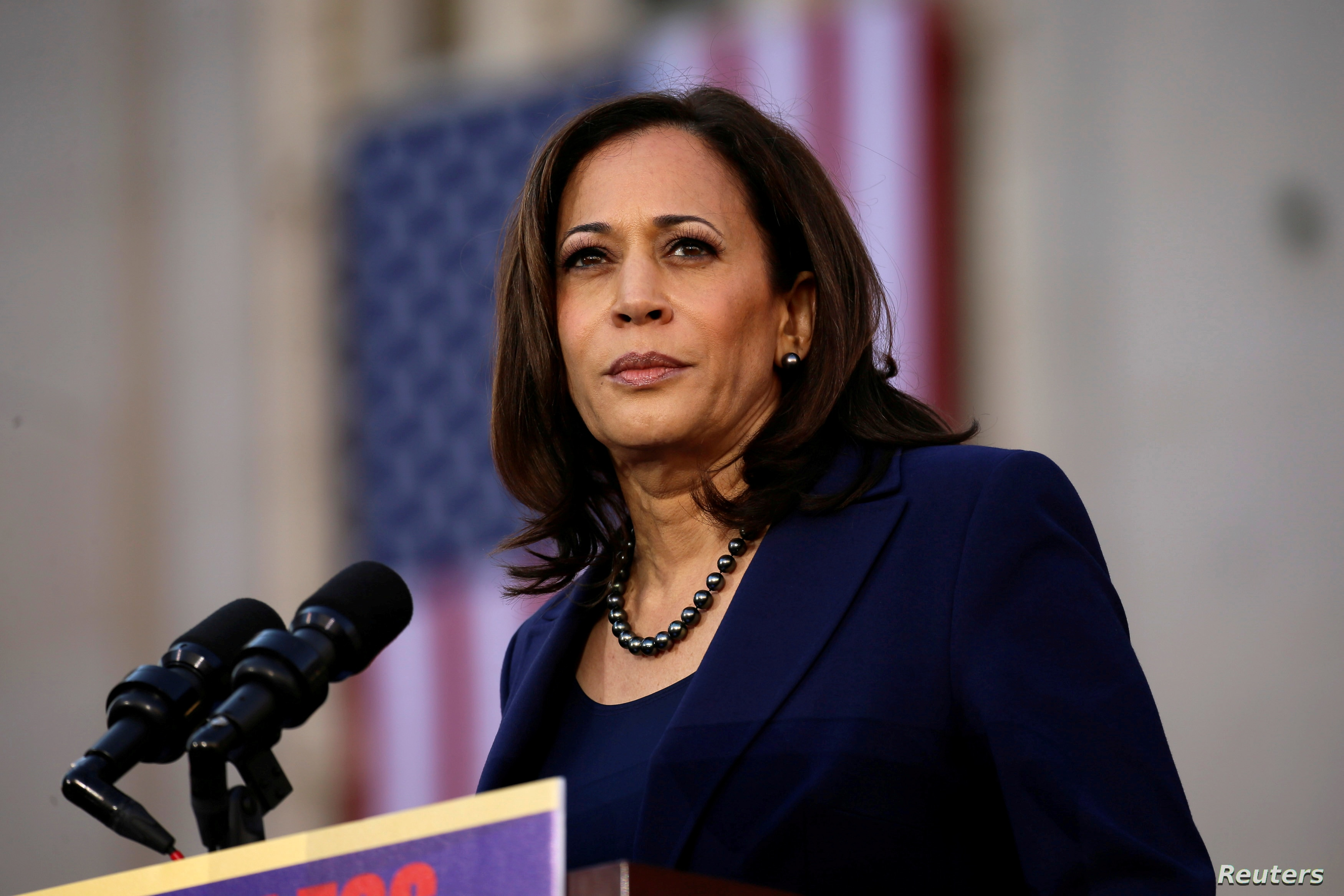 Biden S Pick Of Harris As Running Mate Draws Tears From Some Criticism From Others Voice Of America English