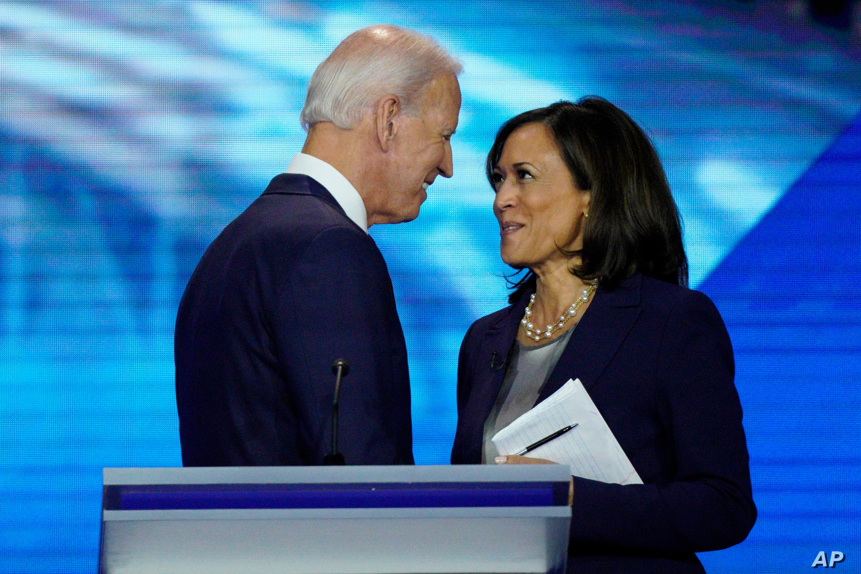 Biden Harris To Make First Public Appearance Together As Running Mates Voice Of America English