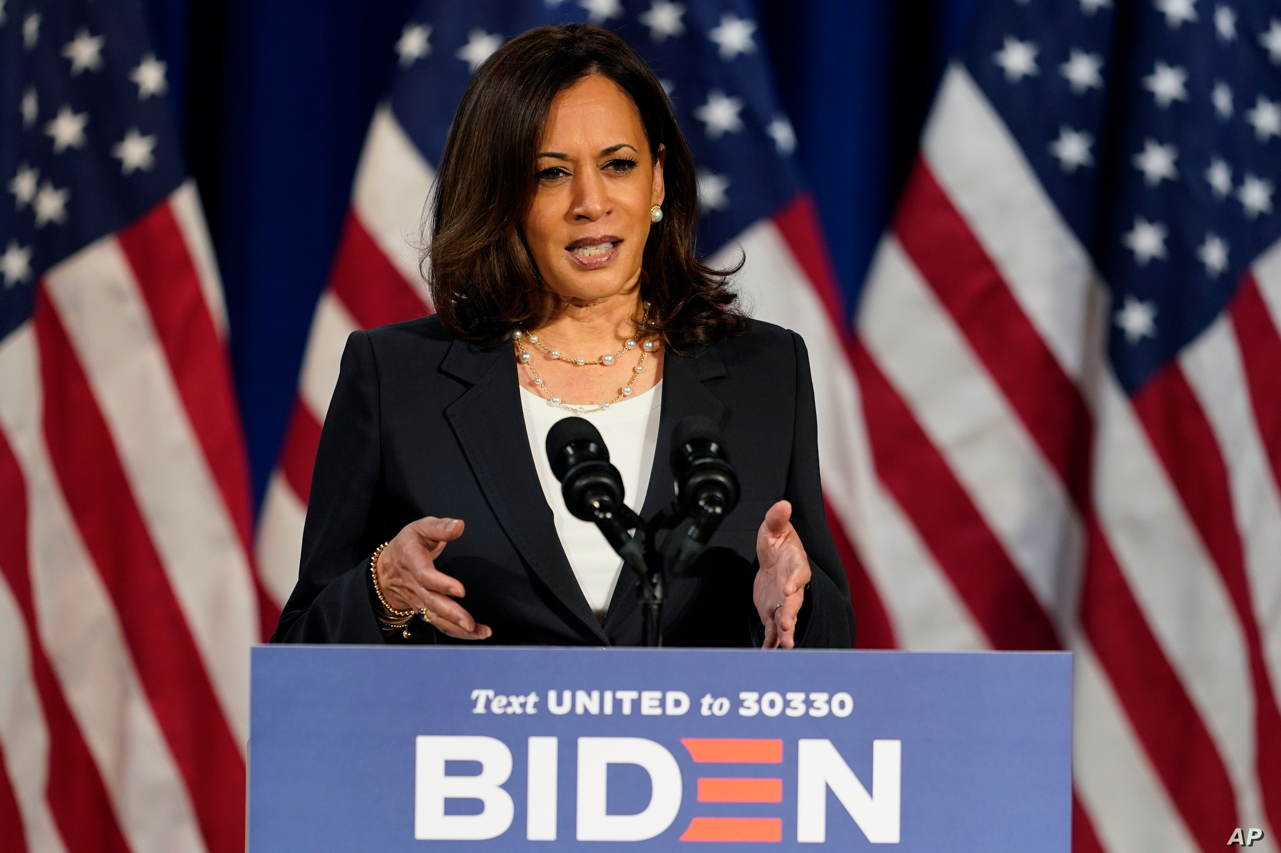 Kamala Harris Projected To Be First Woman Of Color Elected Us Vice President Voice Of America English