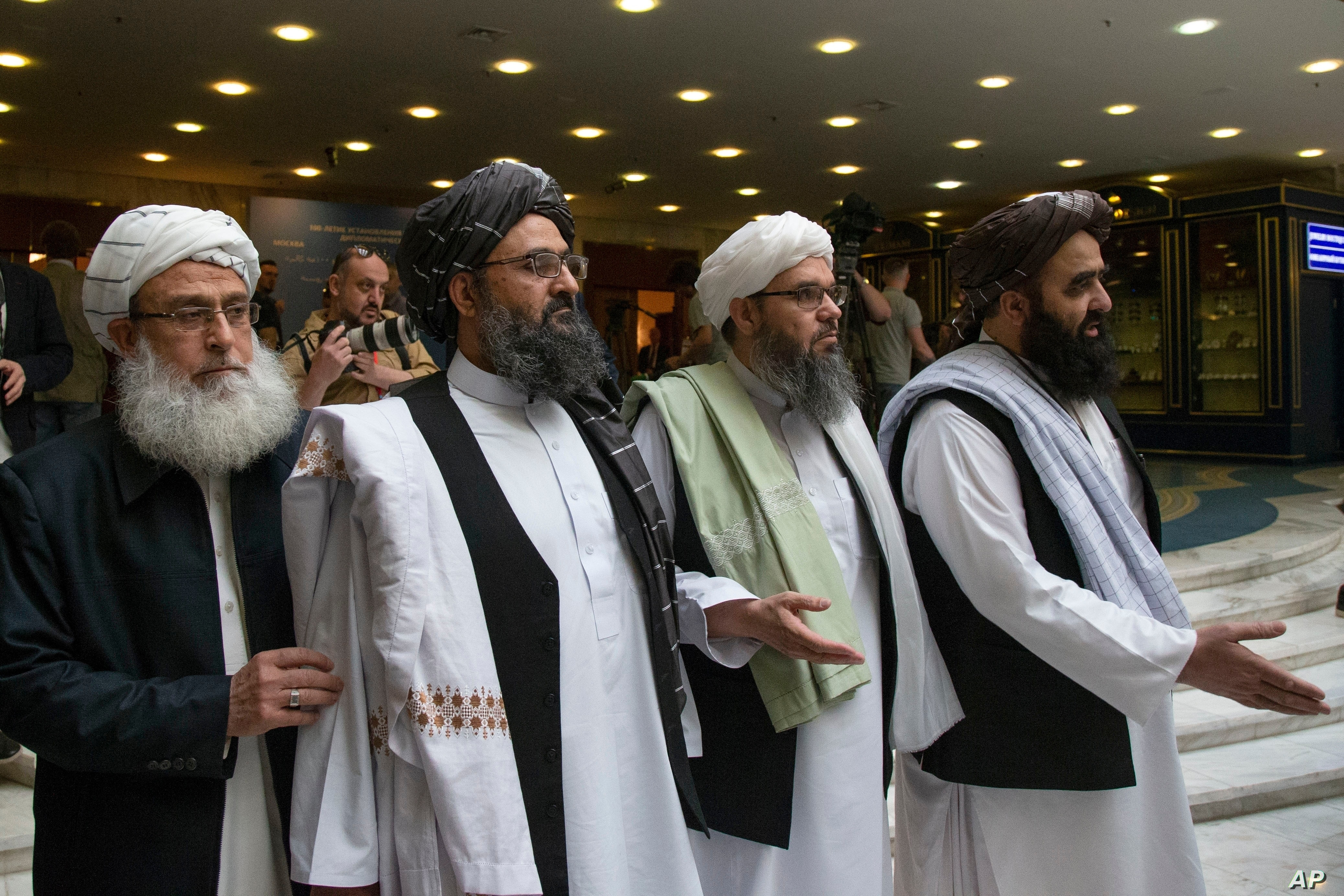 Taliban Name Cleric As Chief Negotiator For Afghan Peace Talks Voice Of America English