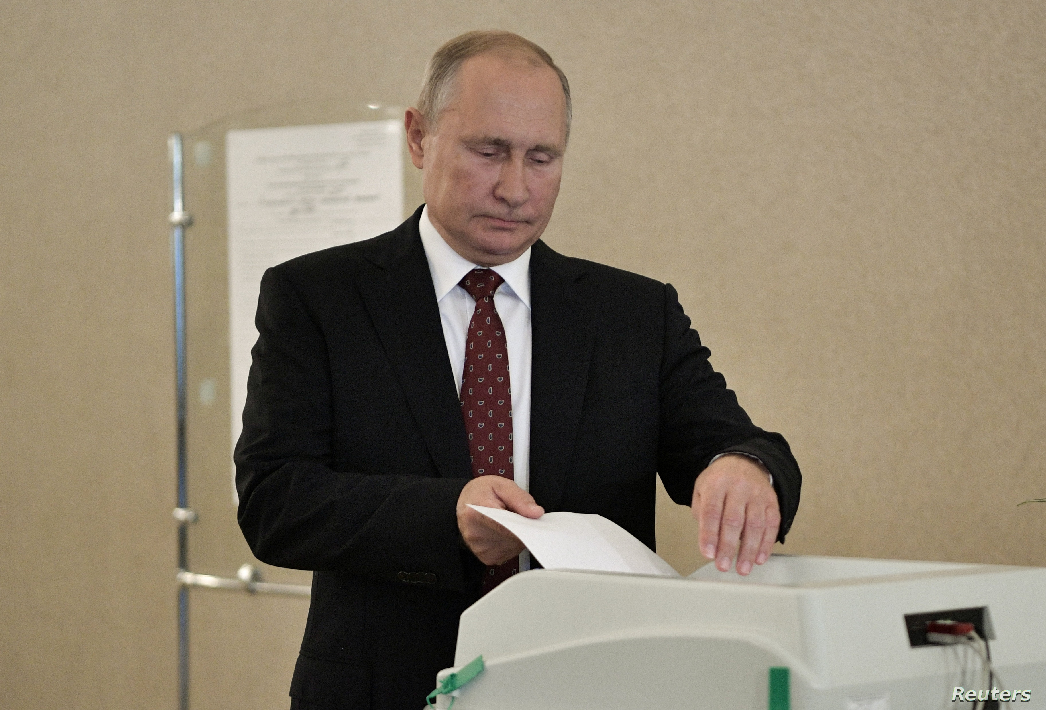 Russia S Putin Proposes Election Non Interference Pact With Us Voice Of America English
