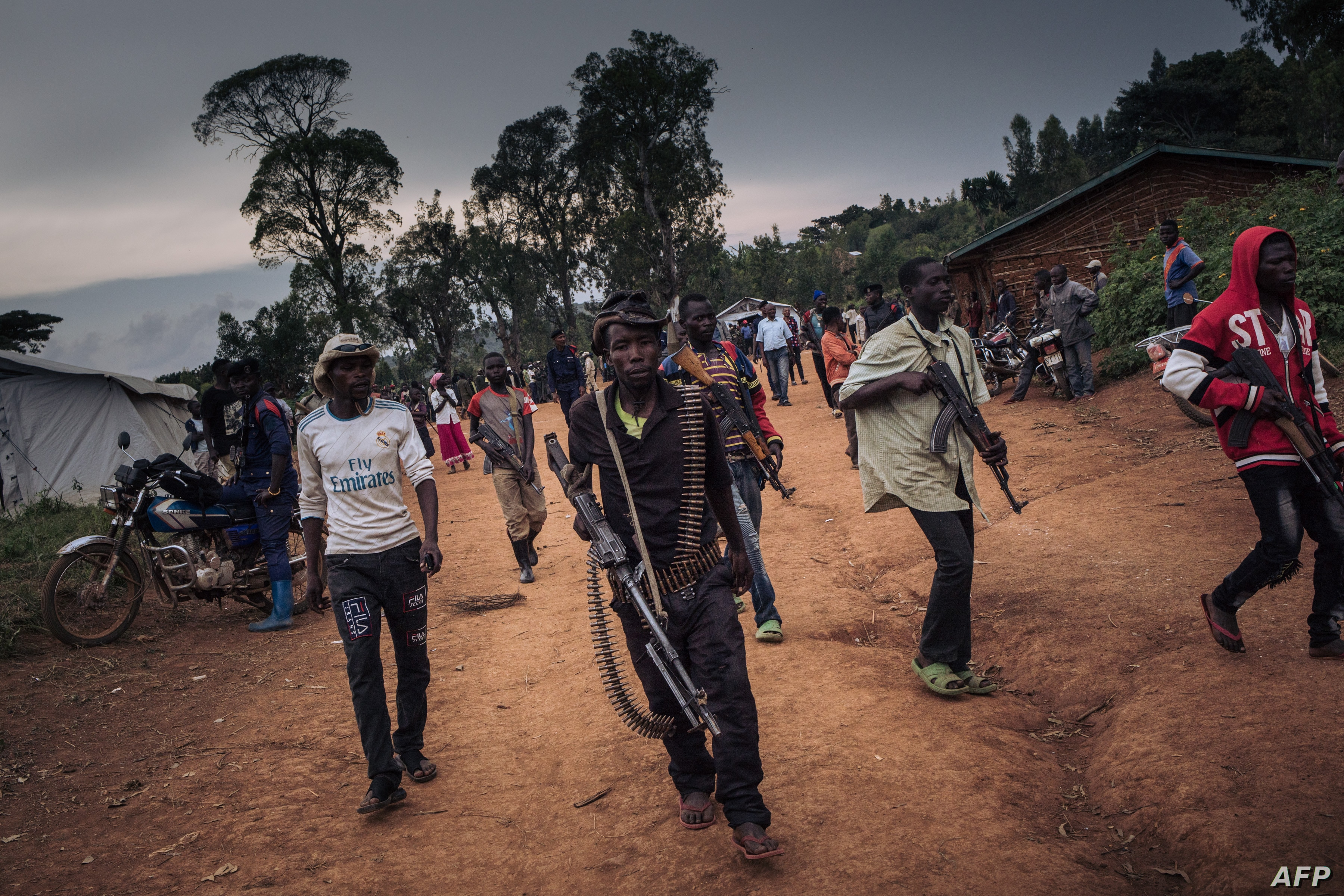 More Than 50 000 Flee New Armed Attacks In Eastern Dr Congo Voice Of America English