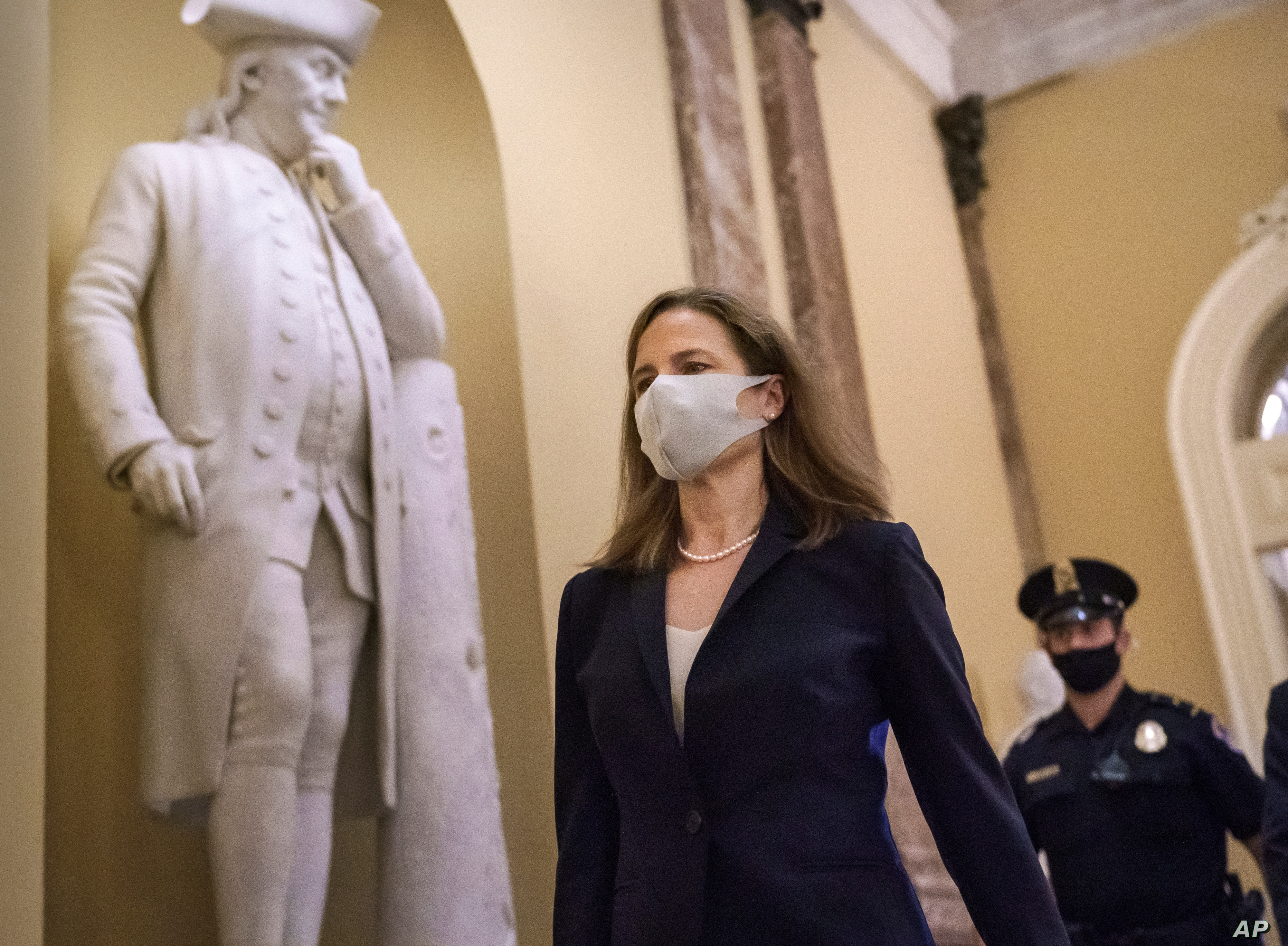 Amy Coney Barrett Supreme Court Nomination Approved By Judiciary Committee
