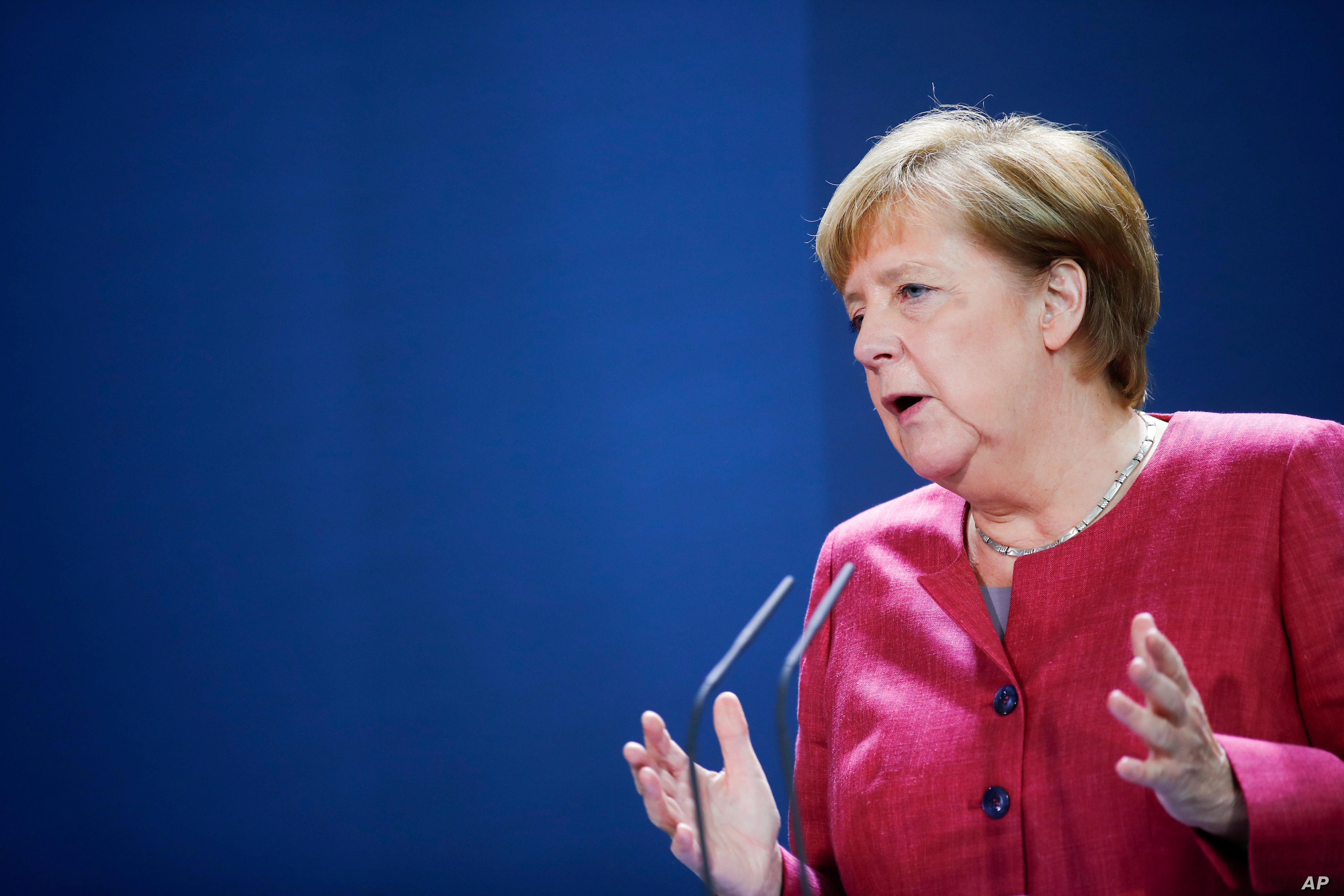 Germany S Merkel Brexit Trade Deal In Everyone S Interest Voice Of America English