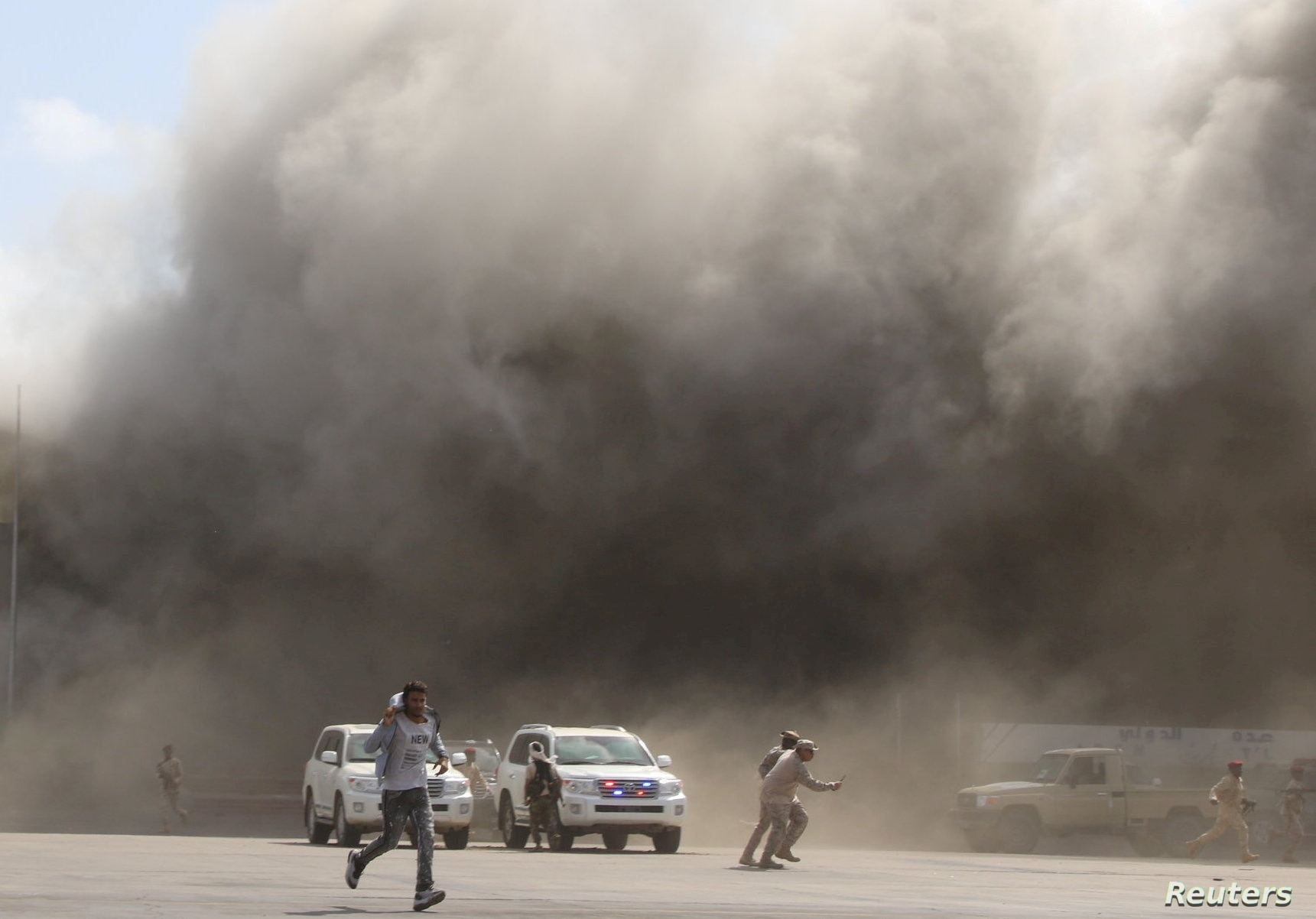 Deadly Blast Rocks Yemeni Airport As New Government Members Arrive